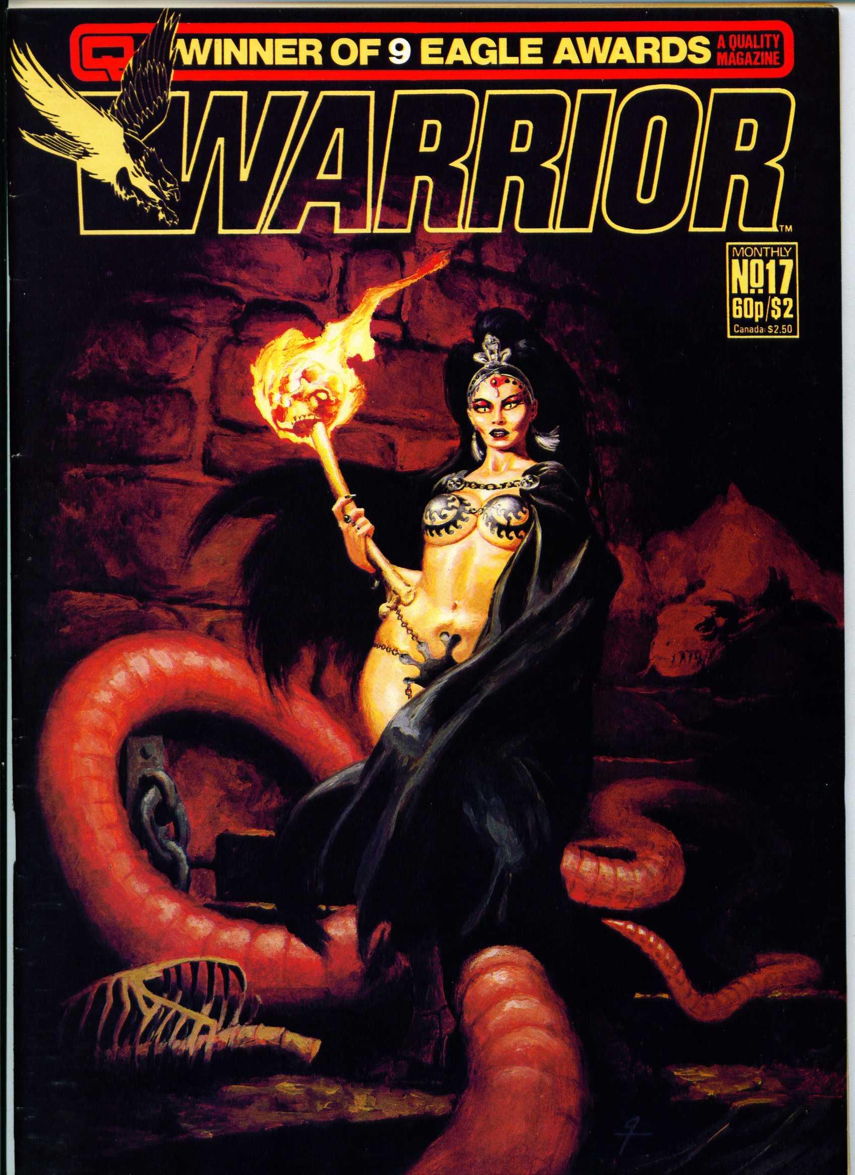 Warrior 17 Page 1