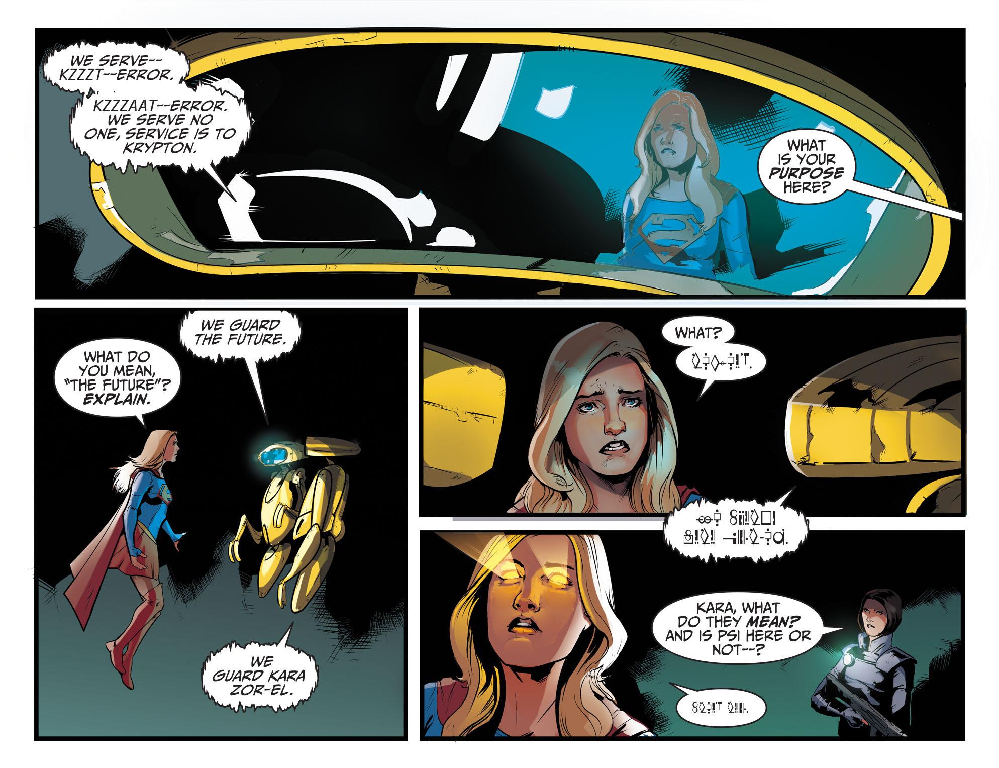 Read online Adventures of Supergirl comic -  Issue #8 - 19