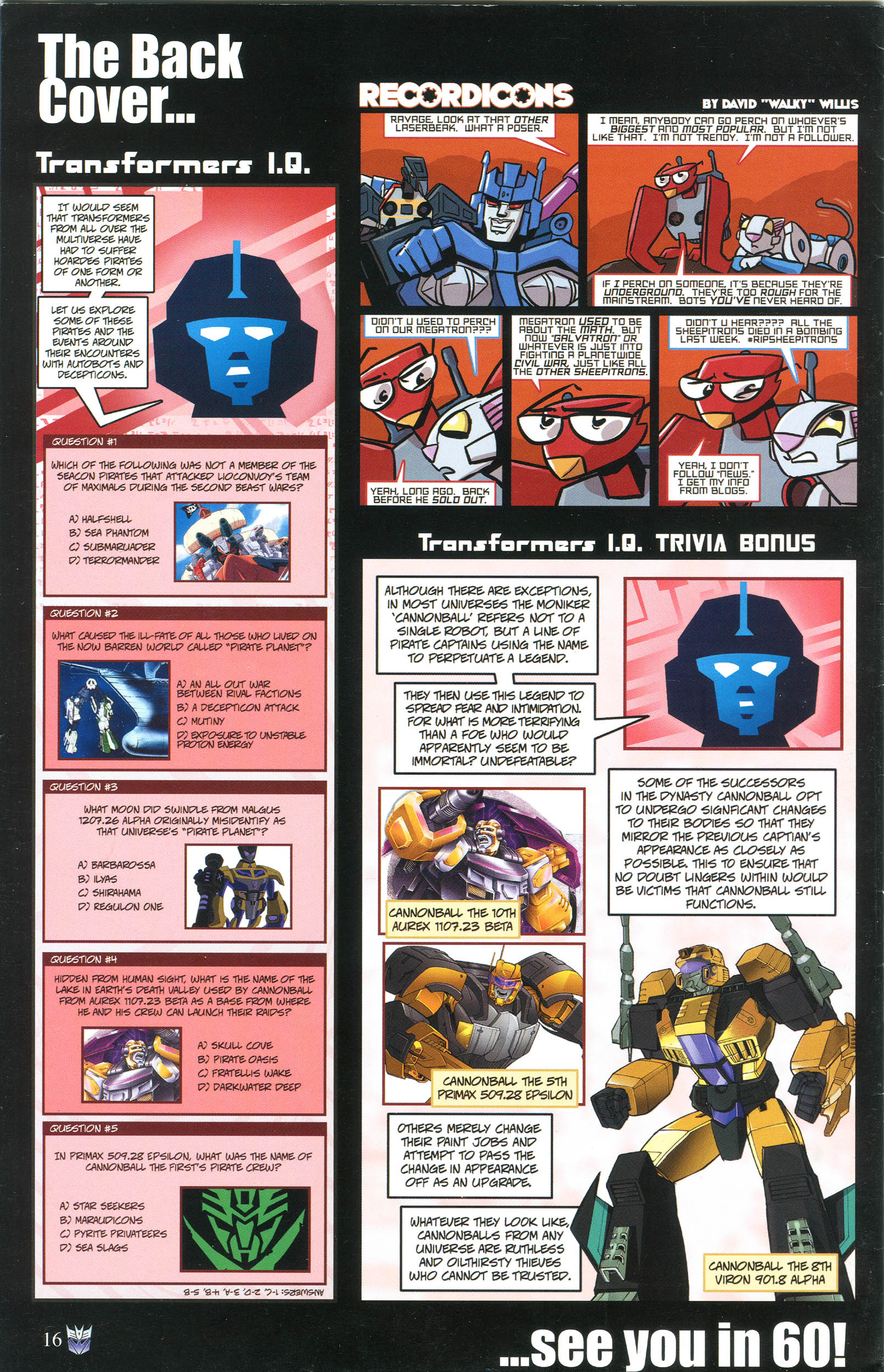 Read online Transformers: Collectors' Club comic -  Issue #56 - 16