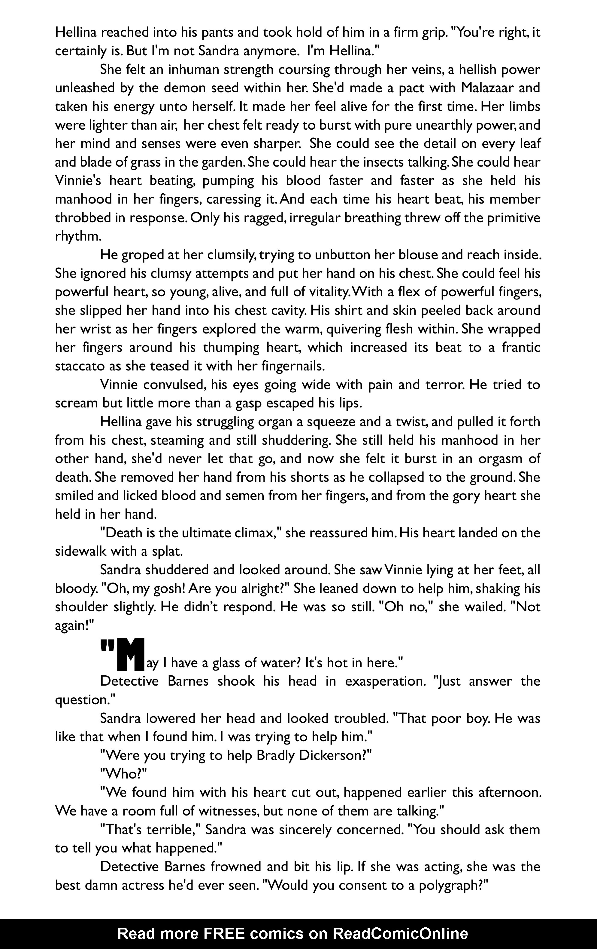 Read online Hellina: Scythe comic -  Issue #4 - 37