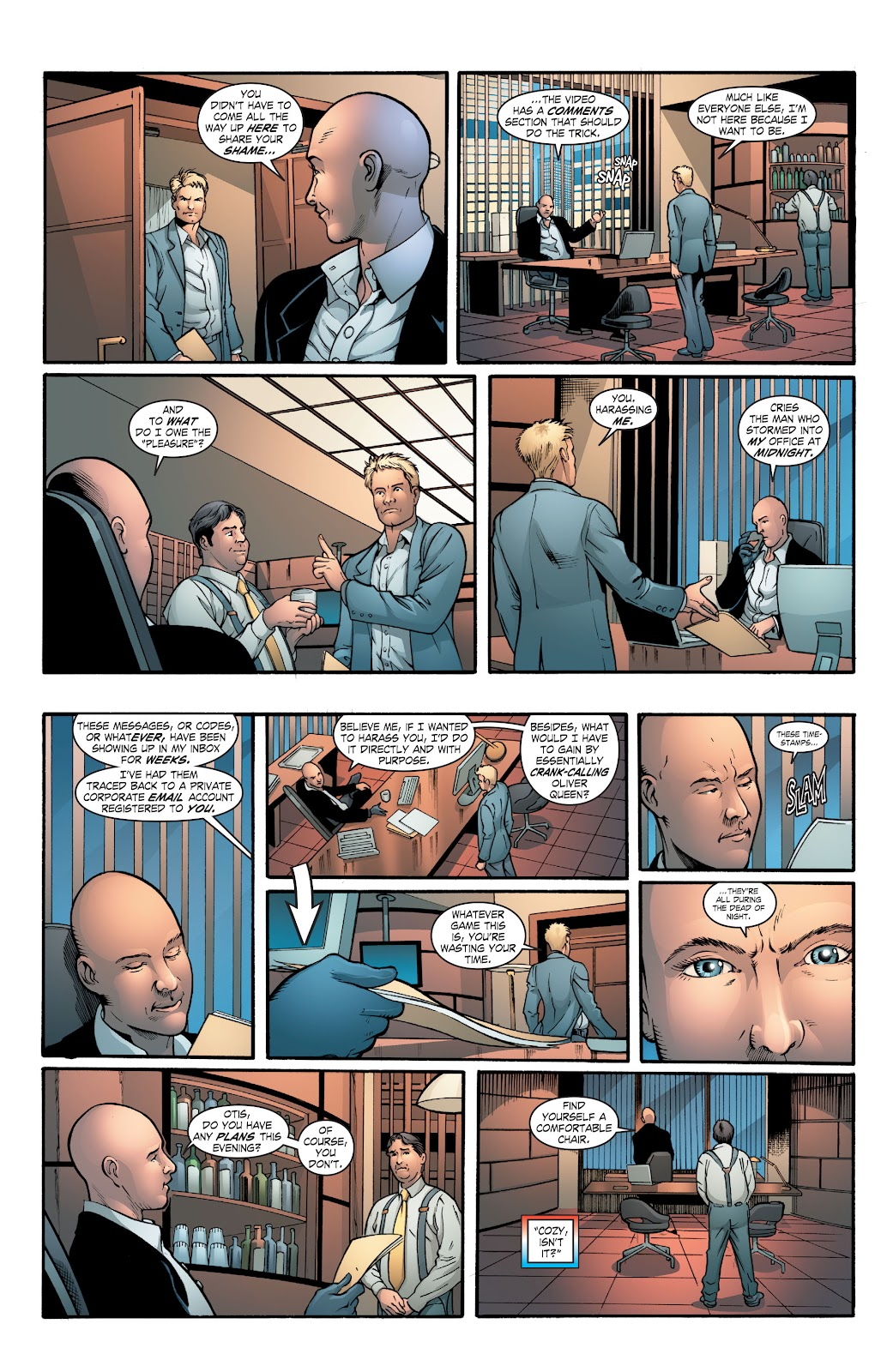 Read online Smallville Season 11 [II] comic -  Issue # TPB 2 - 62