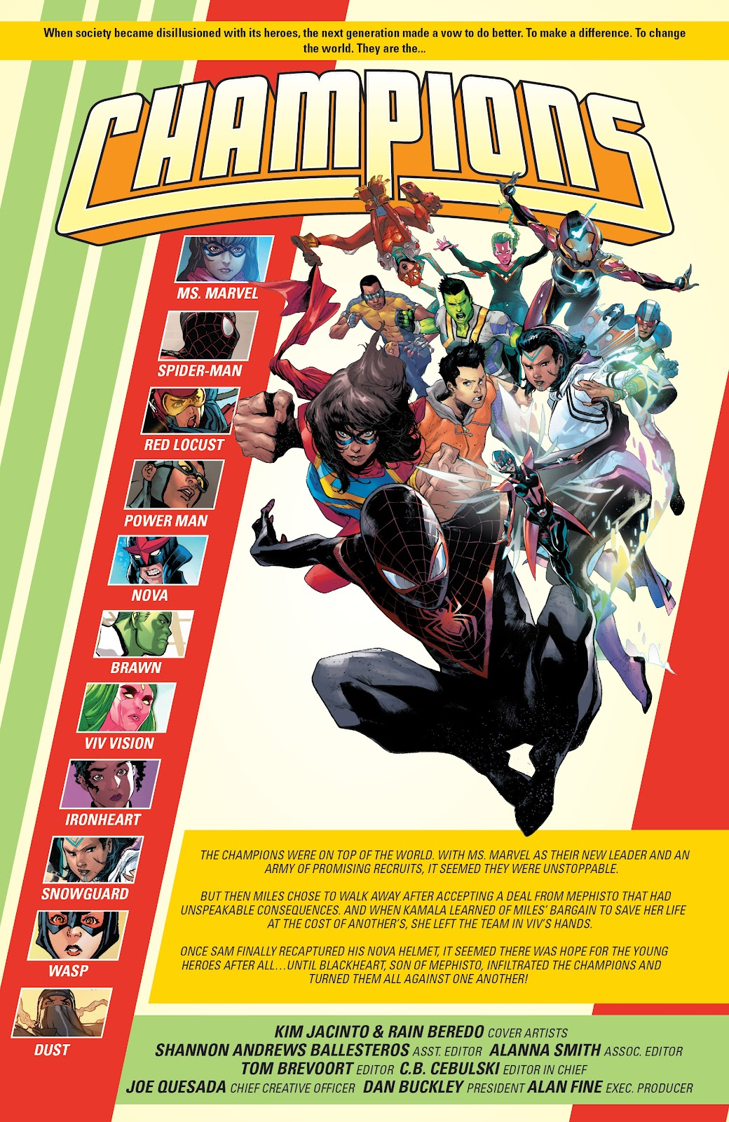 Read online Champions (2019) comic -  Issue #10 - 2