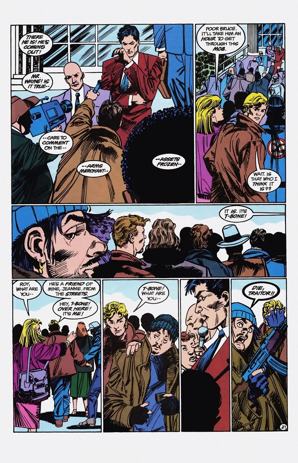 Read online Detective Comics (1937) comic -  Issue # _TPB Batman - Blind Justice (Part 1) - 86