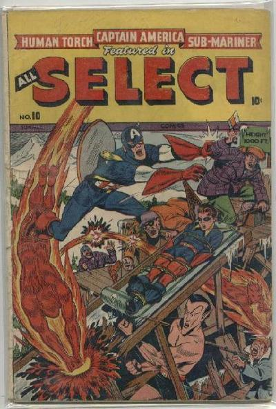 Read online All-Select Comics comic -  Issue #10 - 1