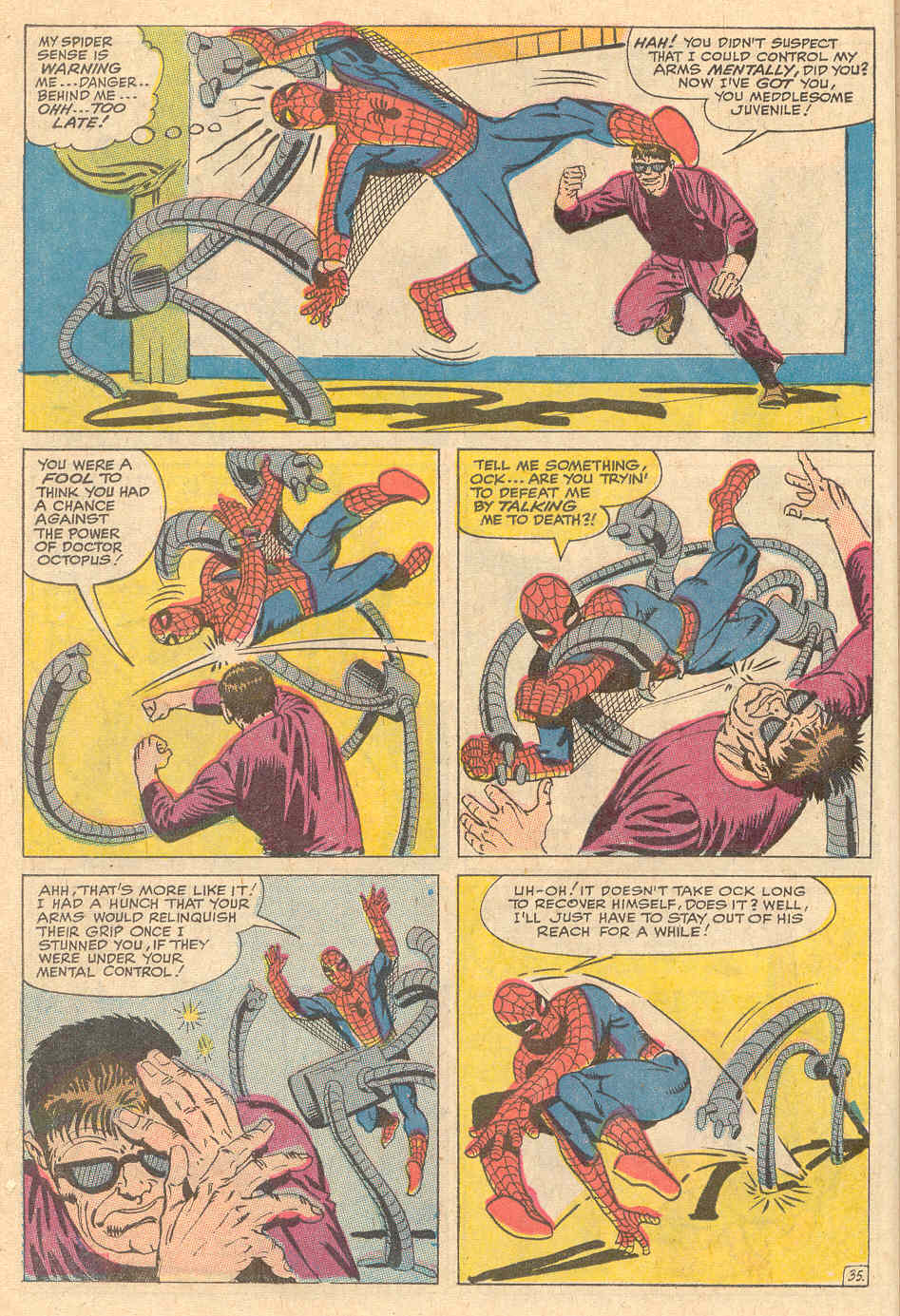 The Amazing Spider-Man (1963) _Annual_6 Page 35