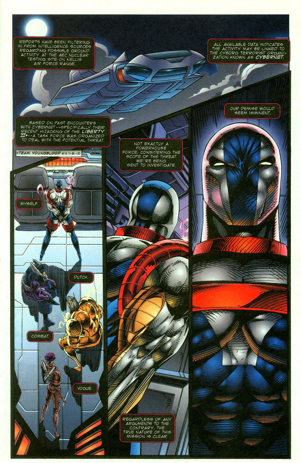 Read online Youngblood GT Interactive Ultra Game Players Special Edition comic -  Issue # Full - 3