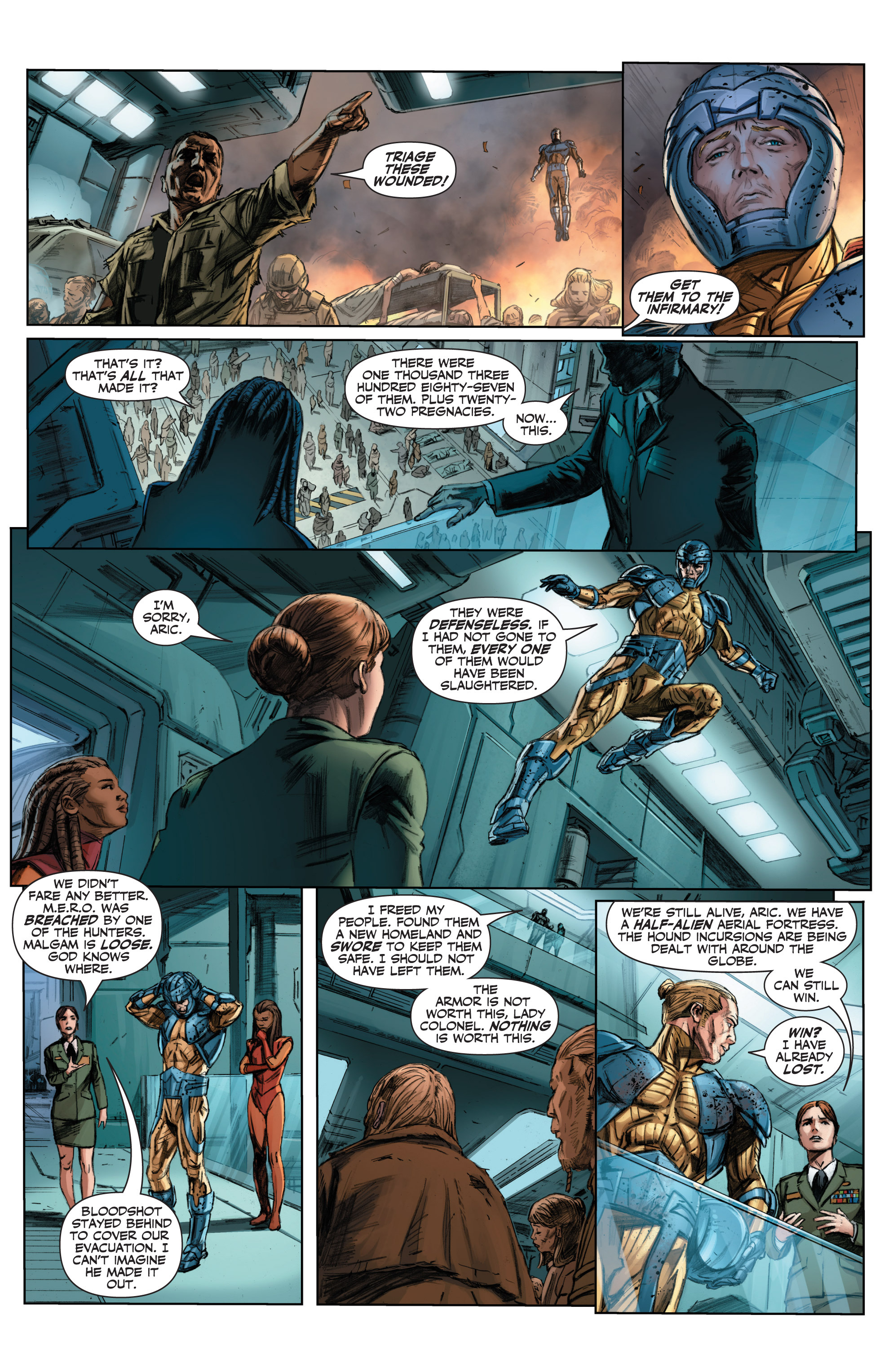Read online Armor Hunters comic -  Issue #3 - 7