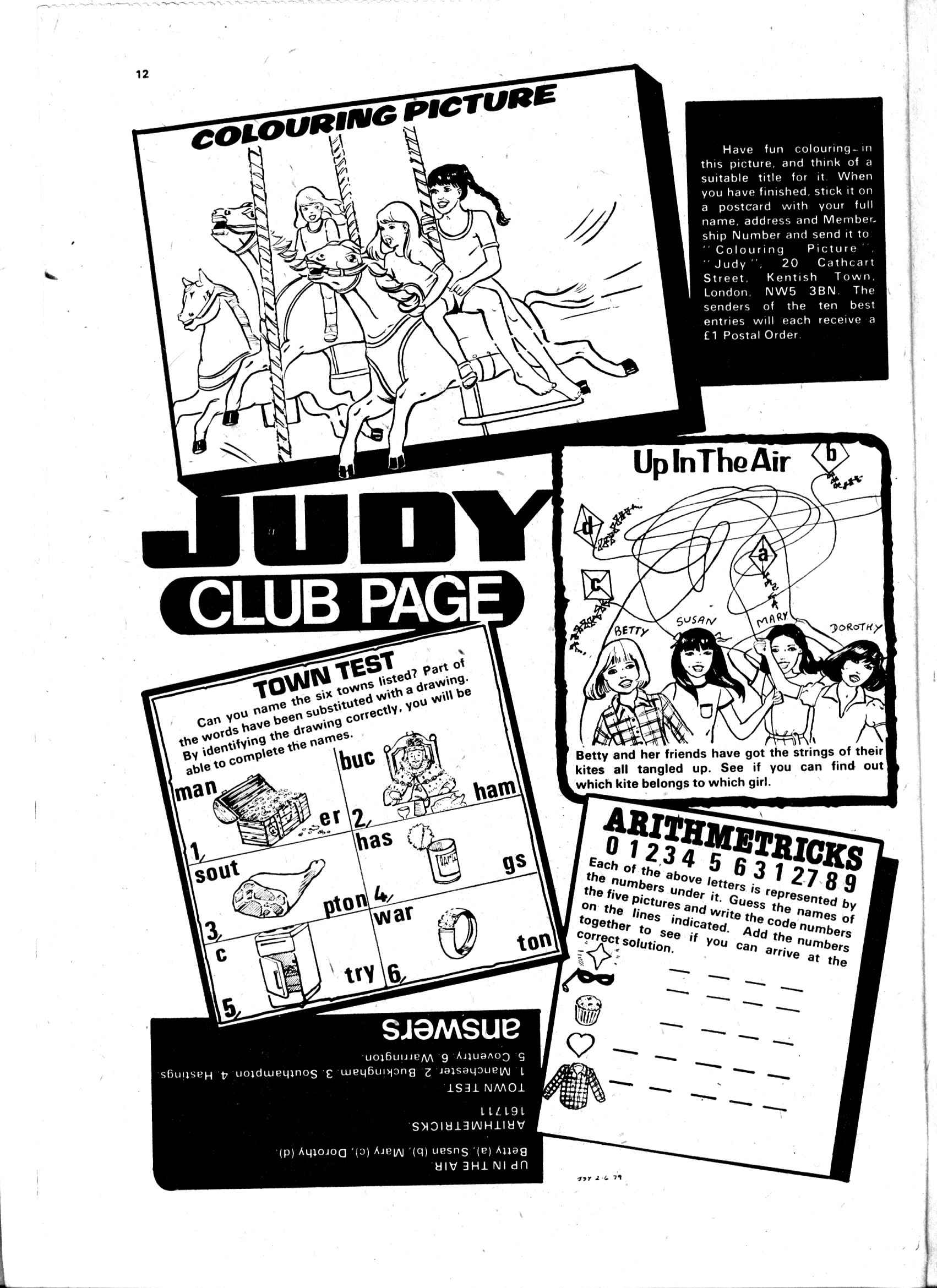 Read online Judy comic -  Issue #12 - 12