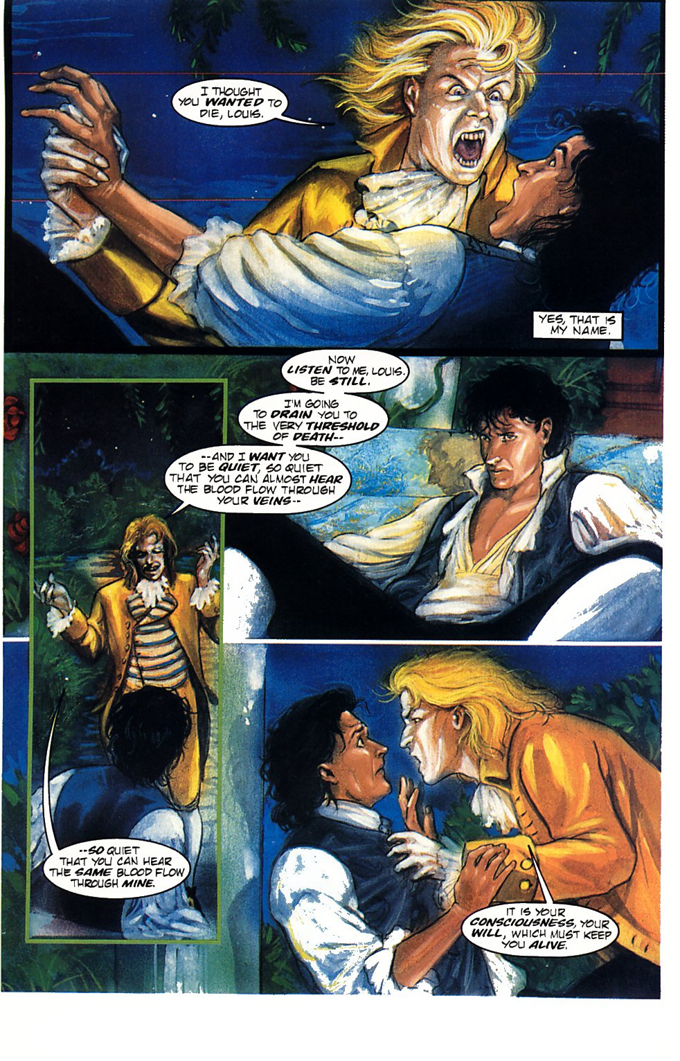 Read online Anne Rice's Interview with the Vampire comic -  Issue #1 - 19
