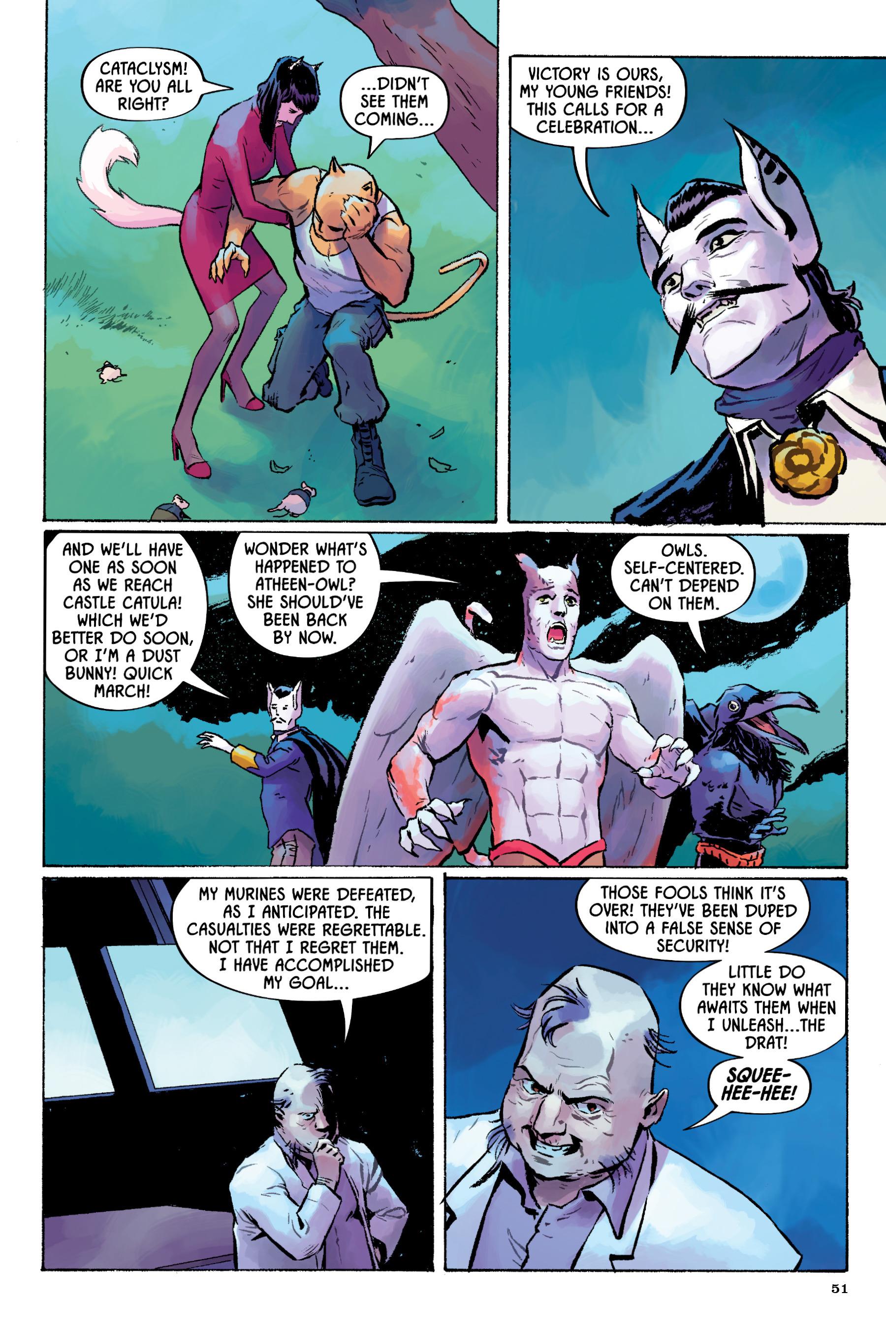 Read online Angel Catbird comic -  Issue # TPB 2 - 52