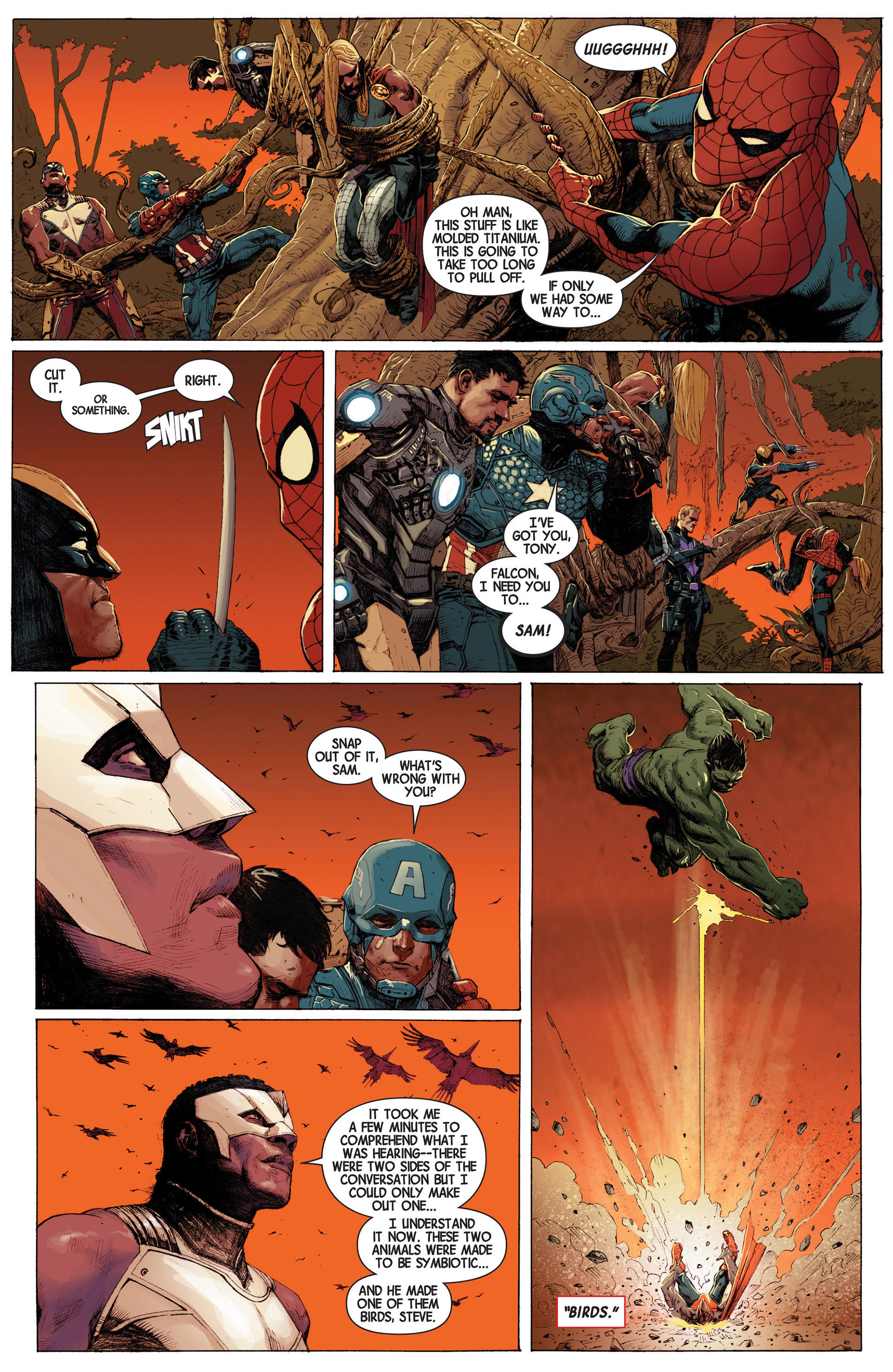 Read online Avengers (2013) comic -  Issue #3 - 16