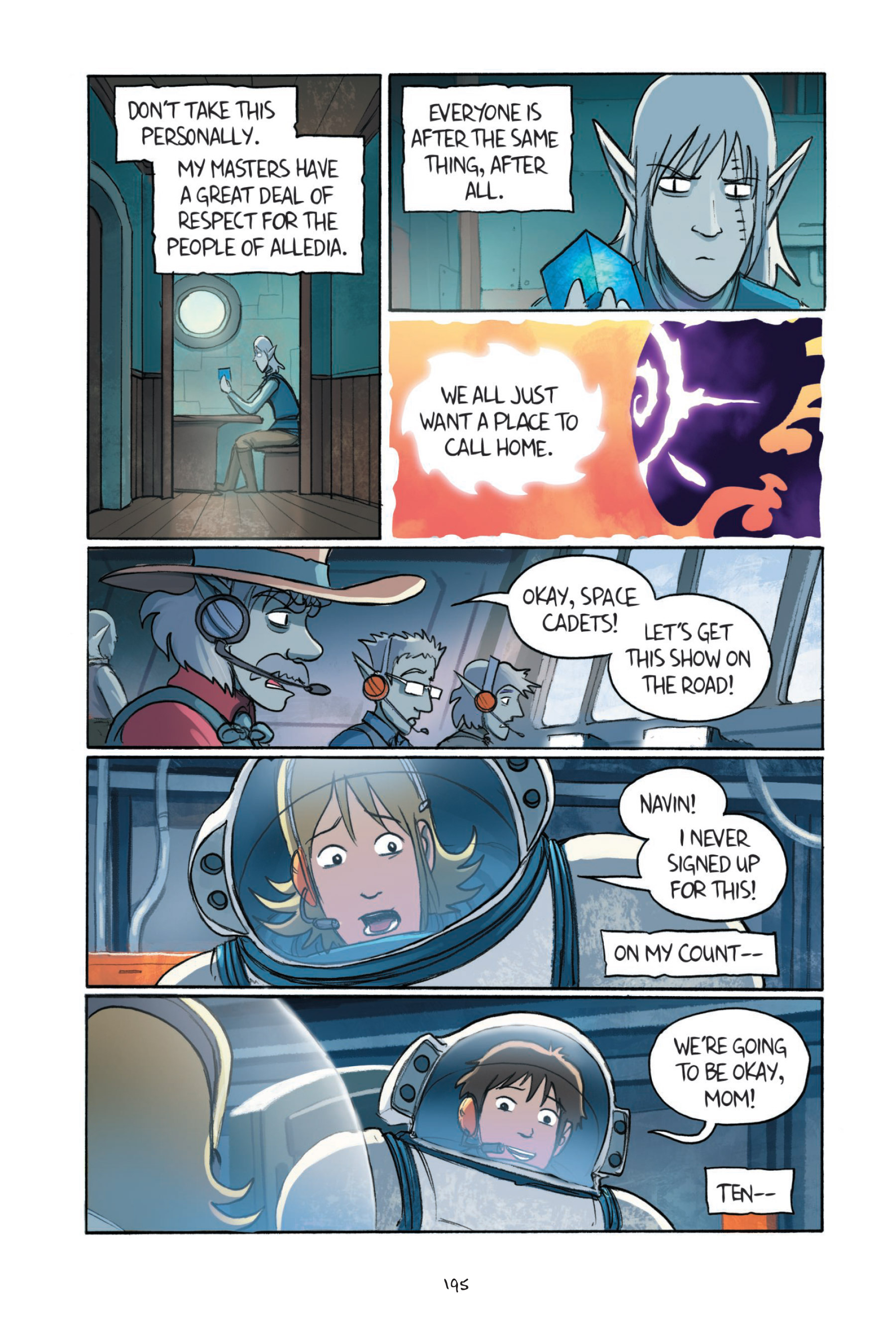 Read online Amulet comic -  Issue #7 - 193