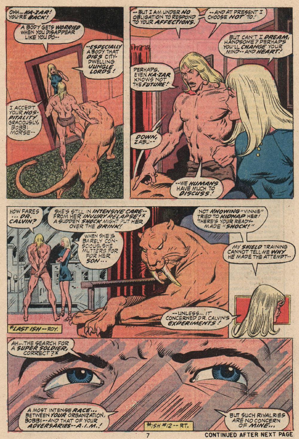 Read online Astonishing Tales (1970) comic -  Issue #16 - 7