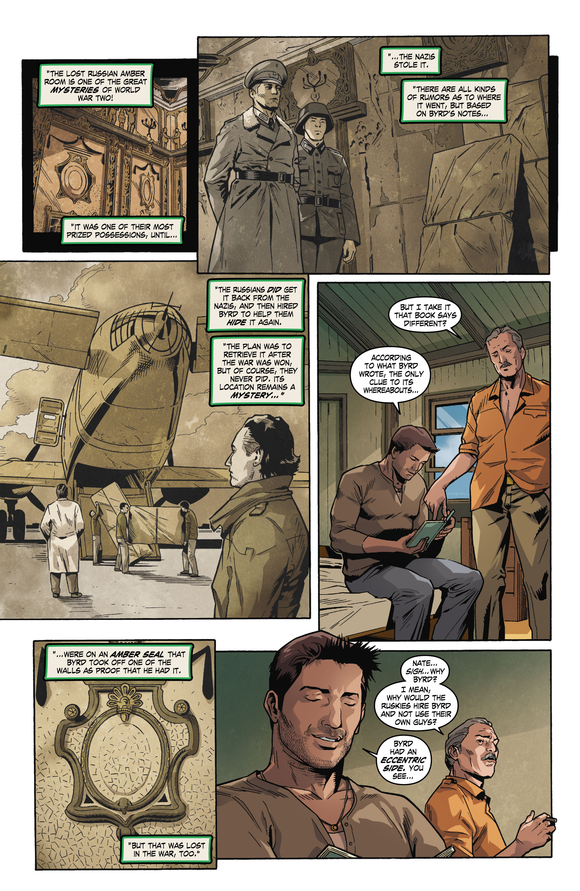 Read online Uncharted comic -  Issue #1 - 12