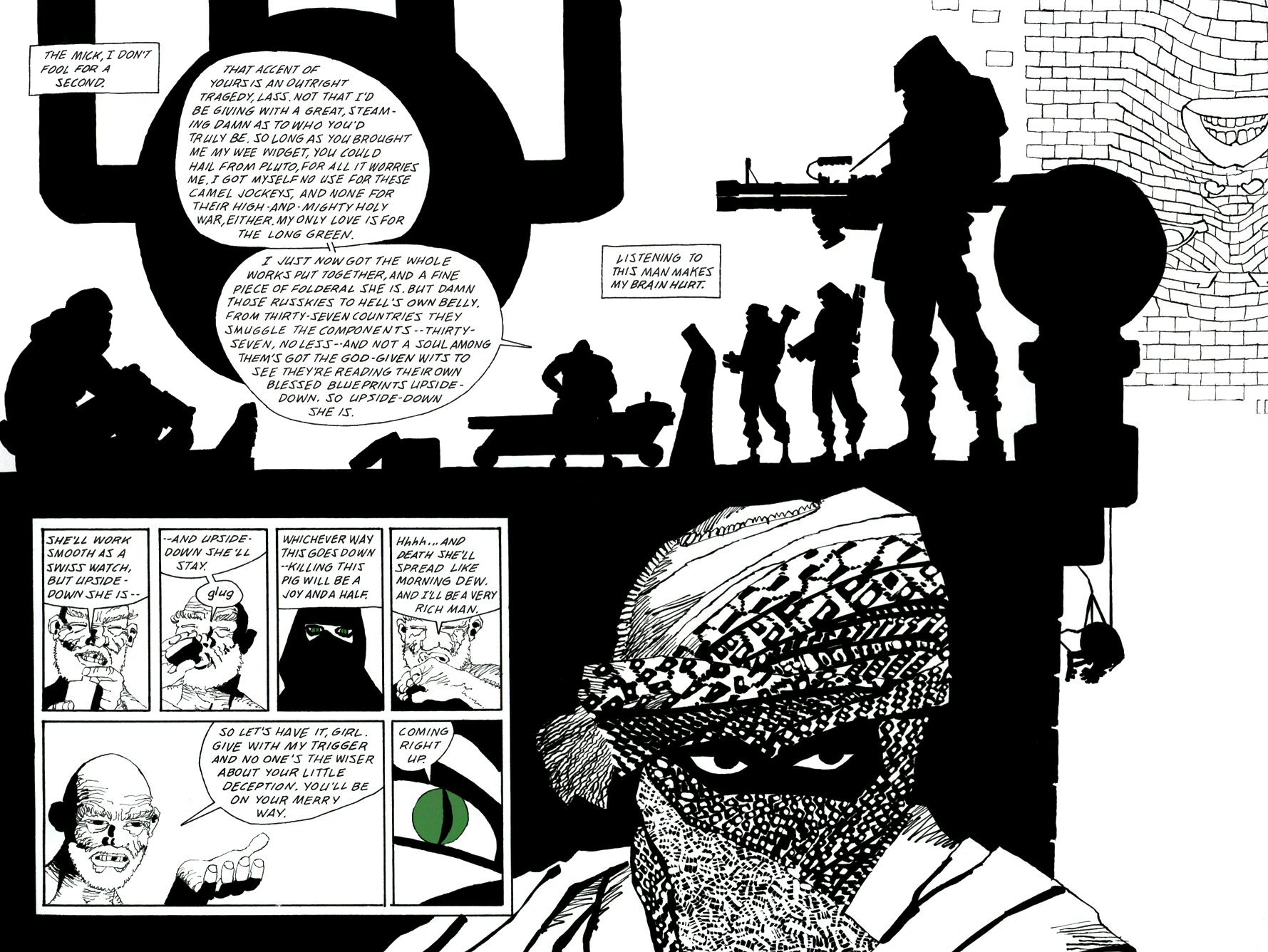 Read online Frank Miller's Holy Terror comic -  Issue # TPB - 103