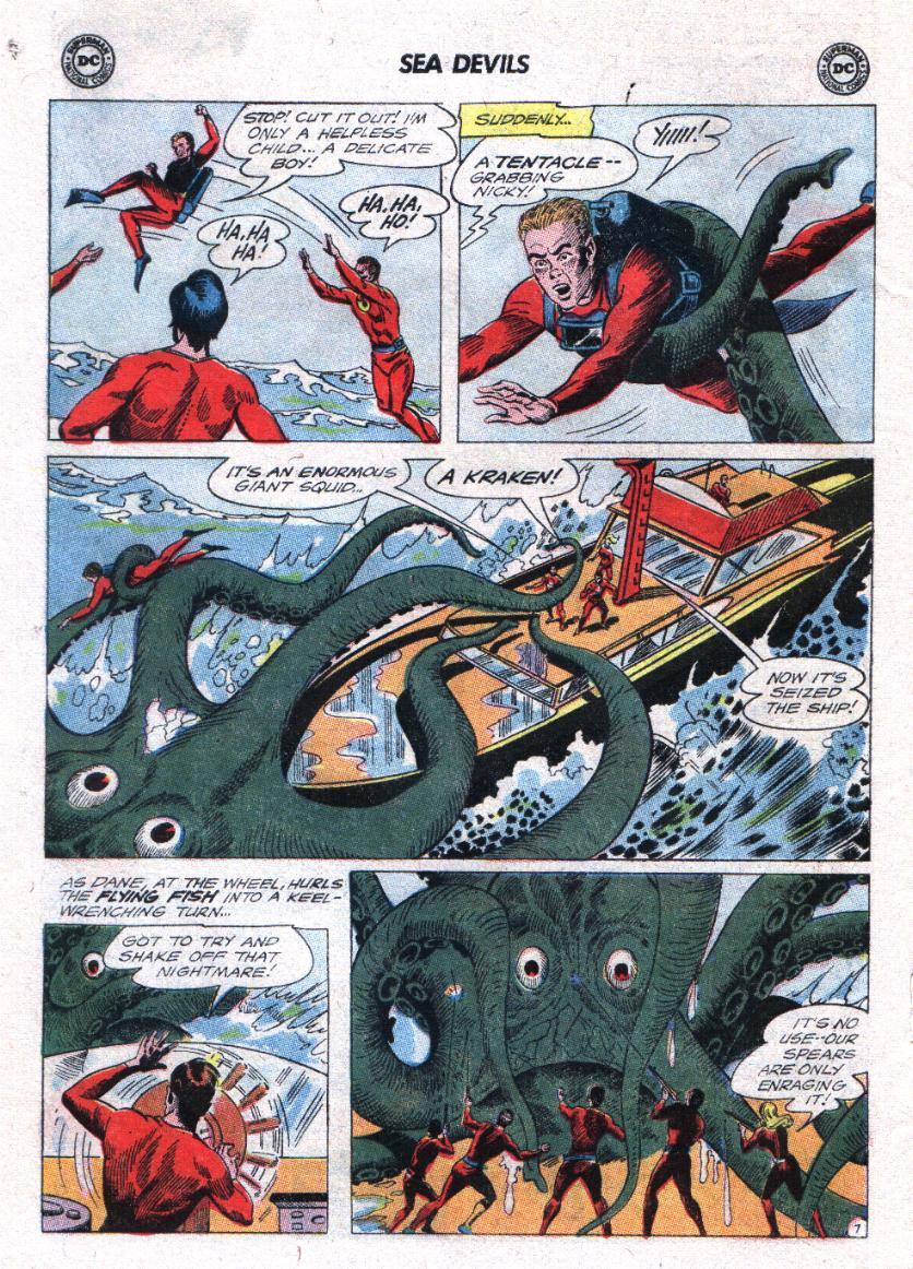 Read online Sea Devils comic -  Issue #23 - 10