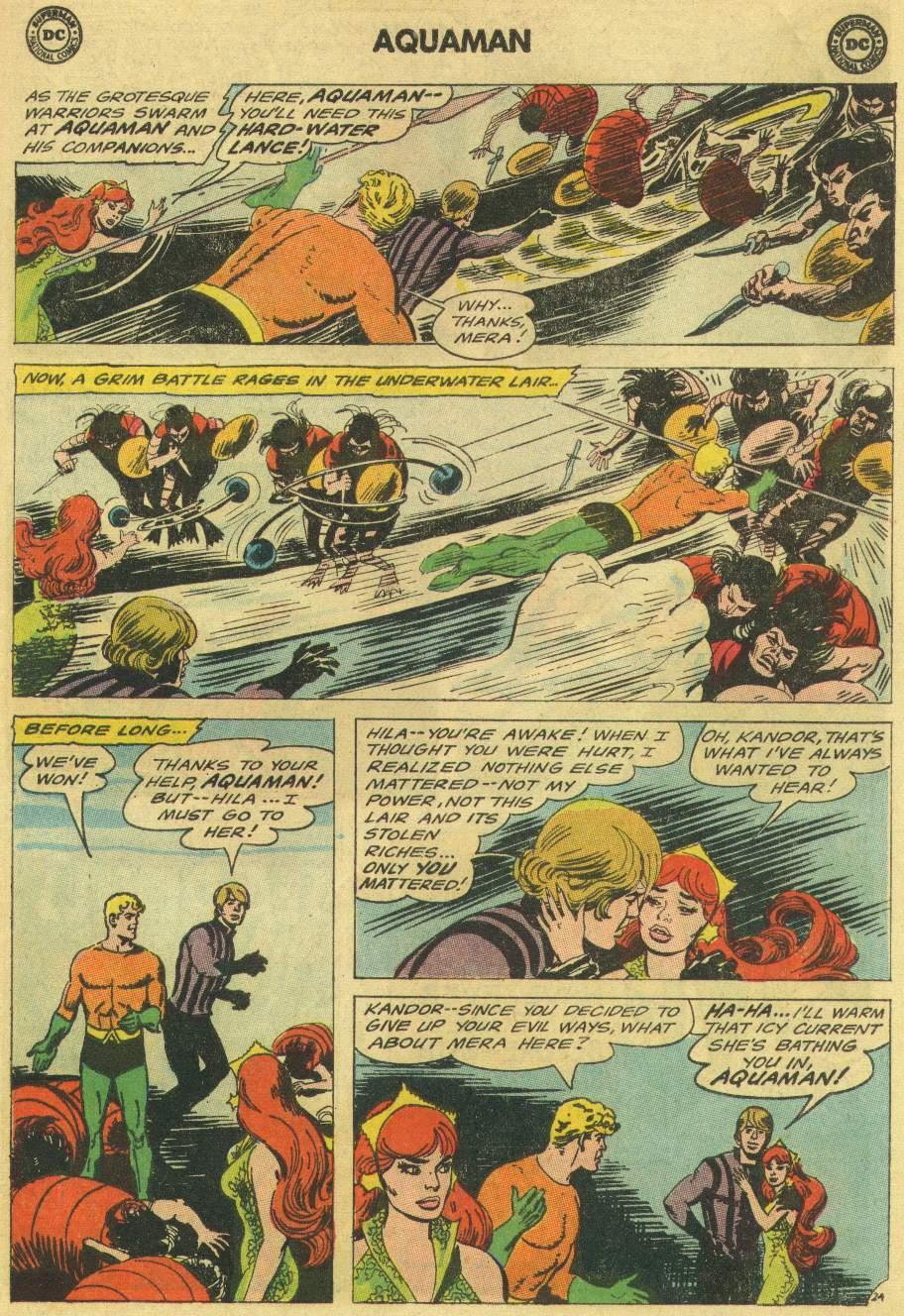 Read online Aquaman (1962) comic -  Issue #22 - 31