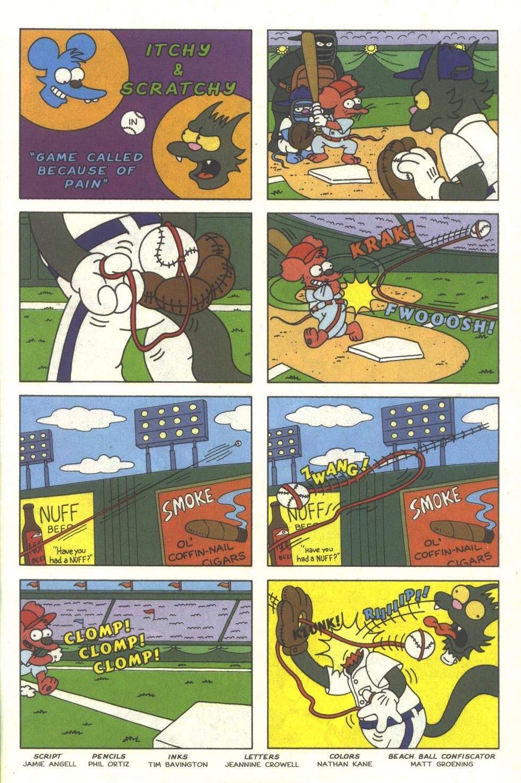 Read online Simpsons Comics comic -  Issue #25 - 27
