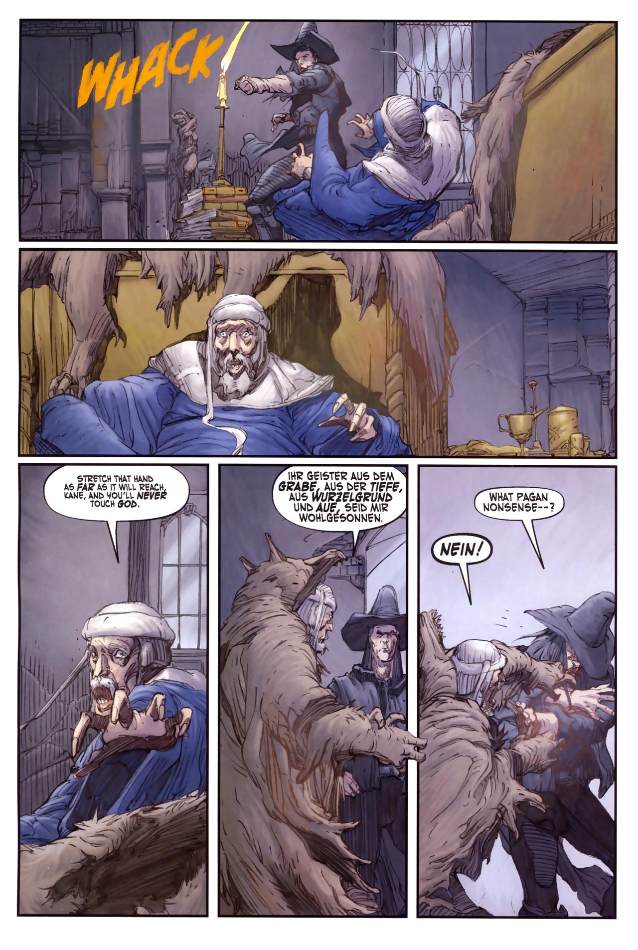 Read online Solomon Kane comic -  Issue #3 - 22