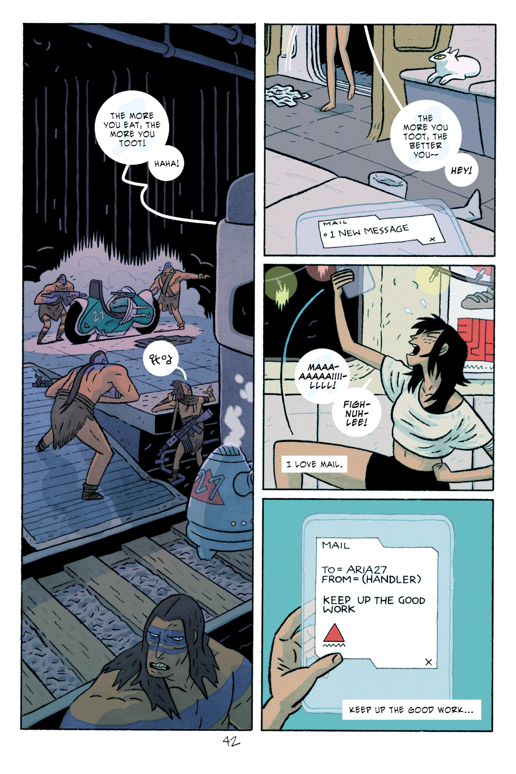 Read online ApocalyptiGirl: An Aria for the End Times comic -  Issue #ApocalyptiGirl: An Aria for the End Times Full - 50