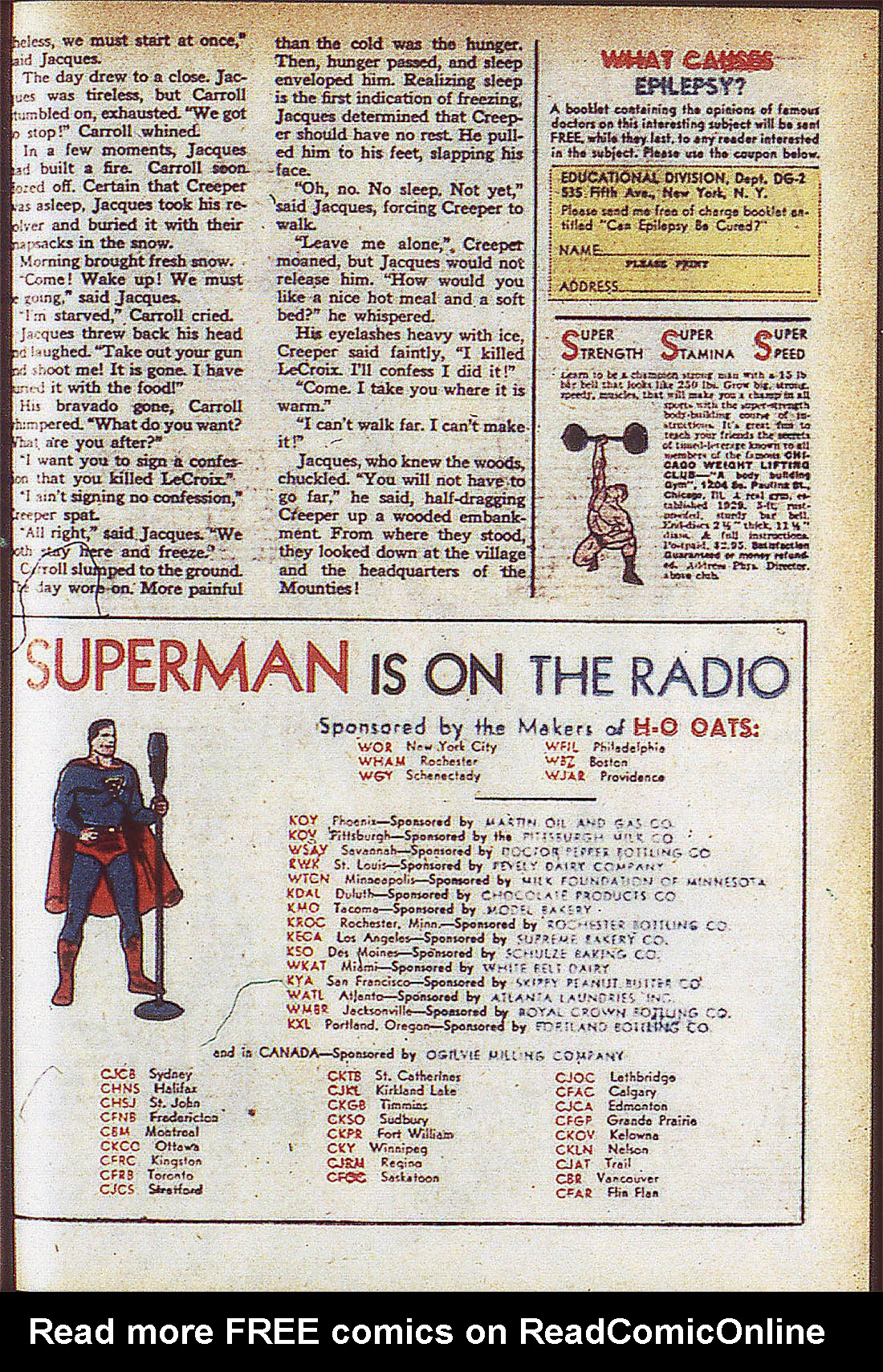 Read online Adventure Comics (1938) comic -  Issue #59 - 48