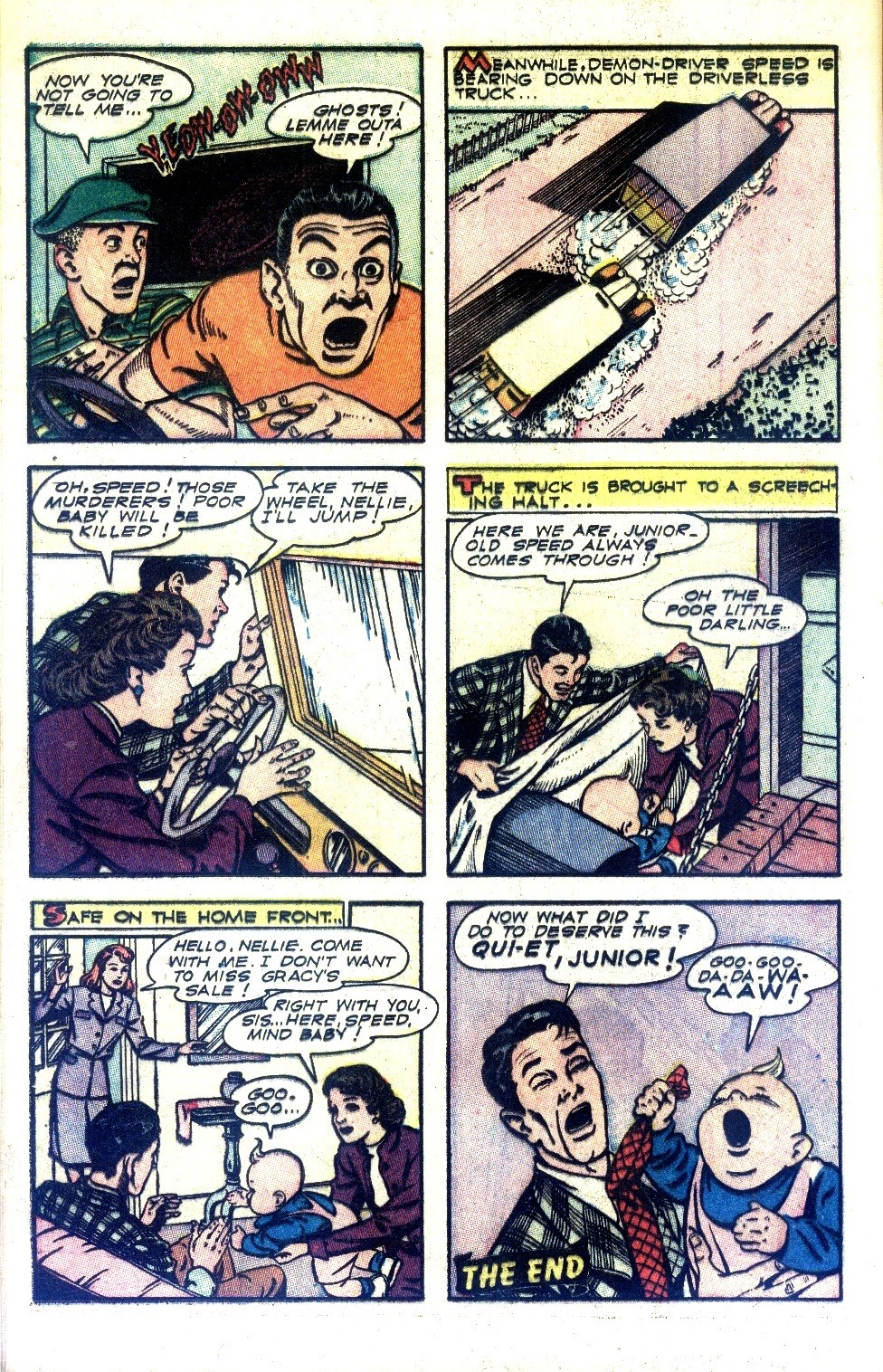 Read online Nellie The Nurse (1945) comic -  Issue #2 - 16