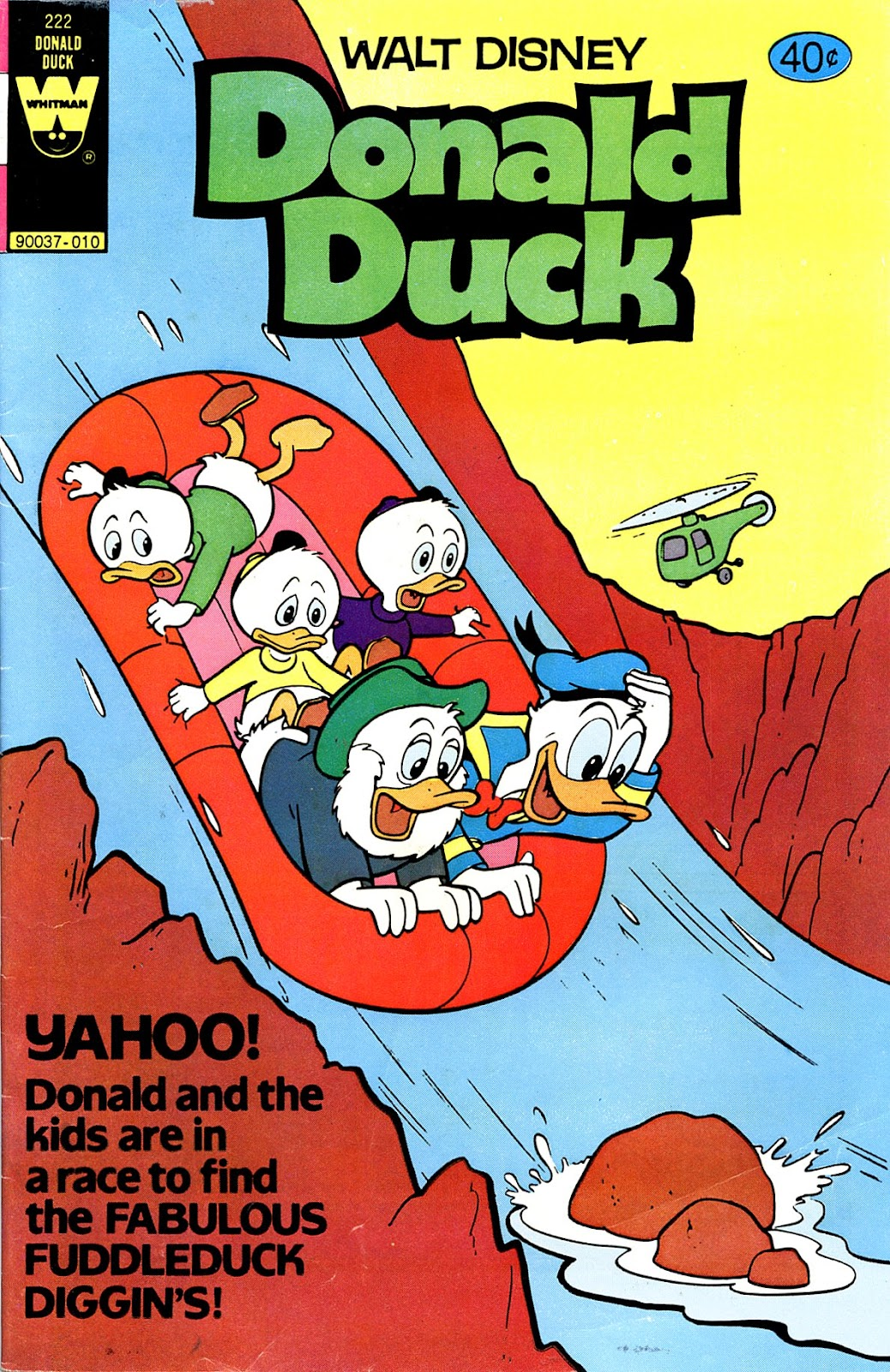 Walt Disney's Donald Duck (1952) issue 222 - Page 1