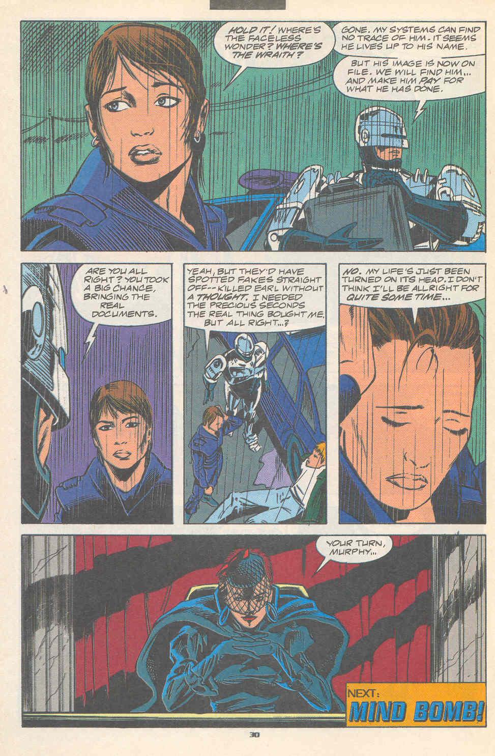 Read online Robocop (1990) comic -  Issue #17 - 23