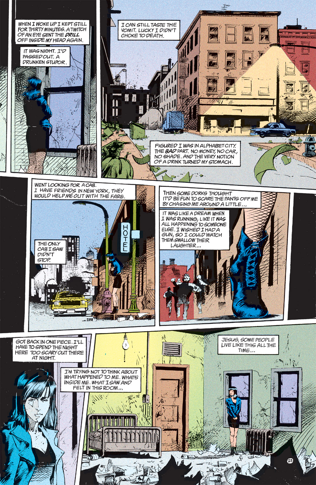 Read online Shade, the Changing Man comic -  Issue #7 - 22