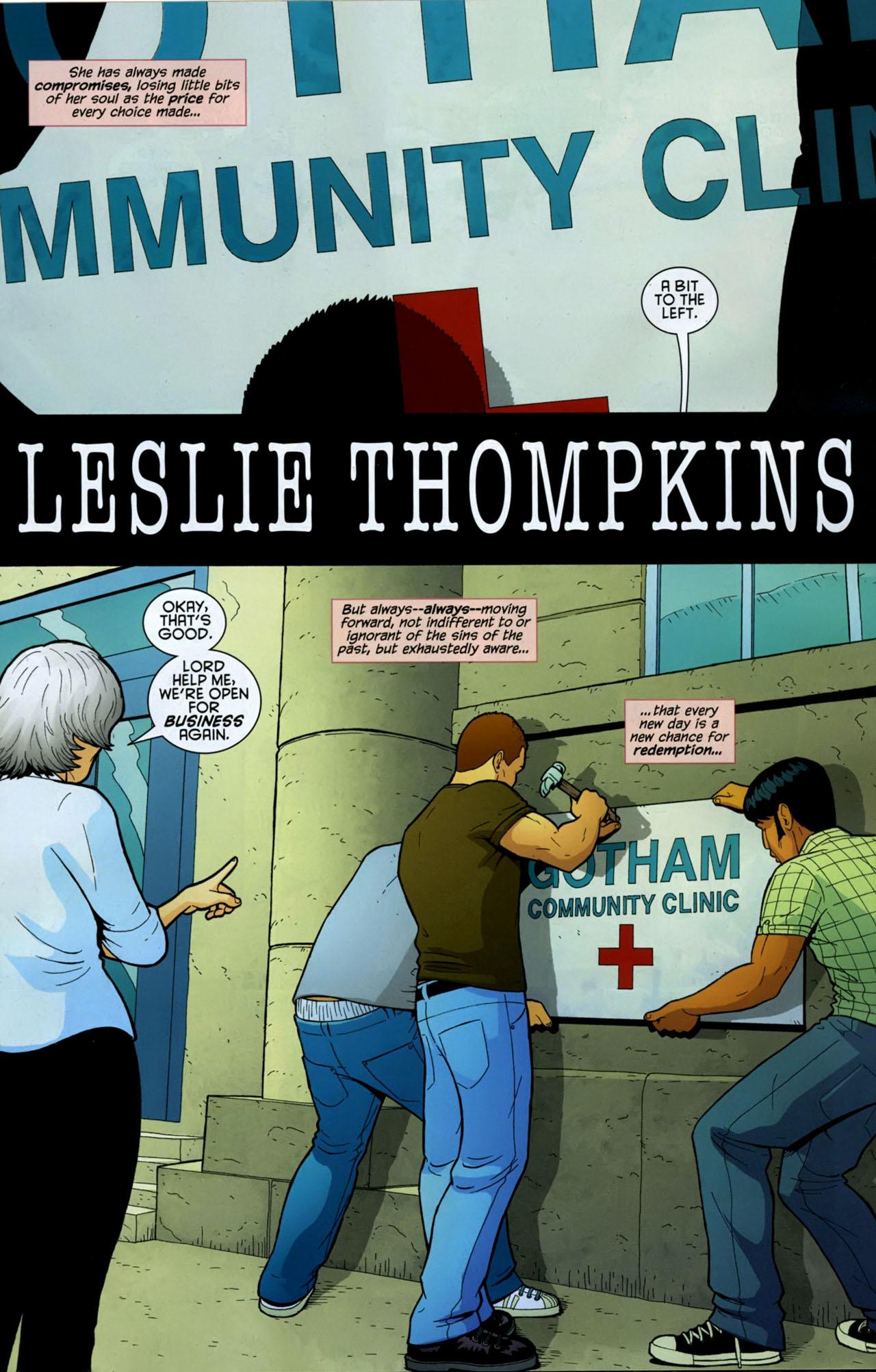 Read online Gotham Gazette comic -  Issue # Issue Batman Alive - 8