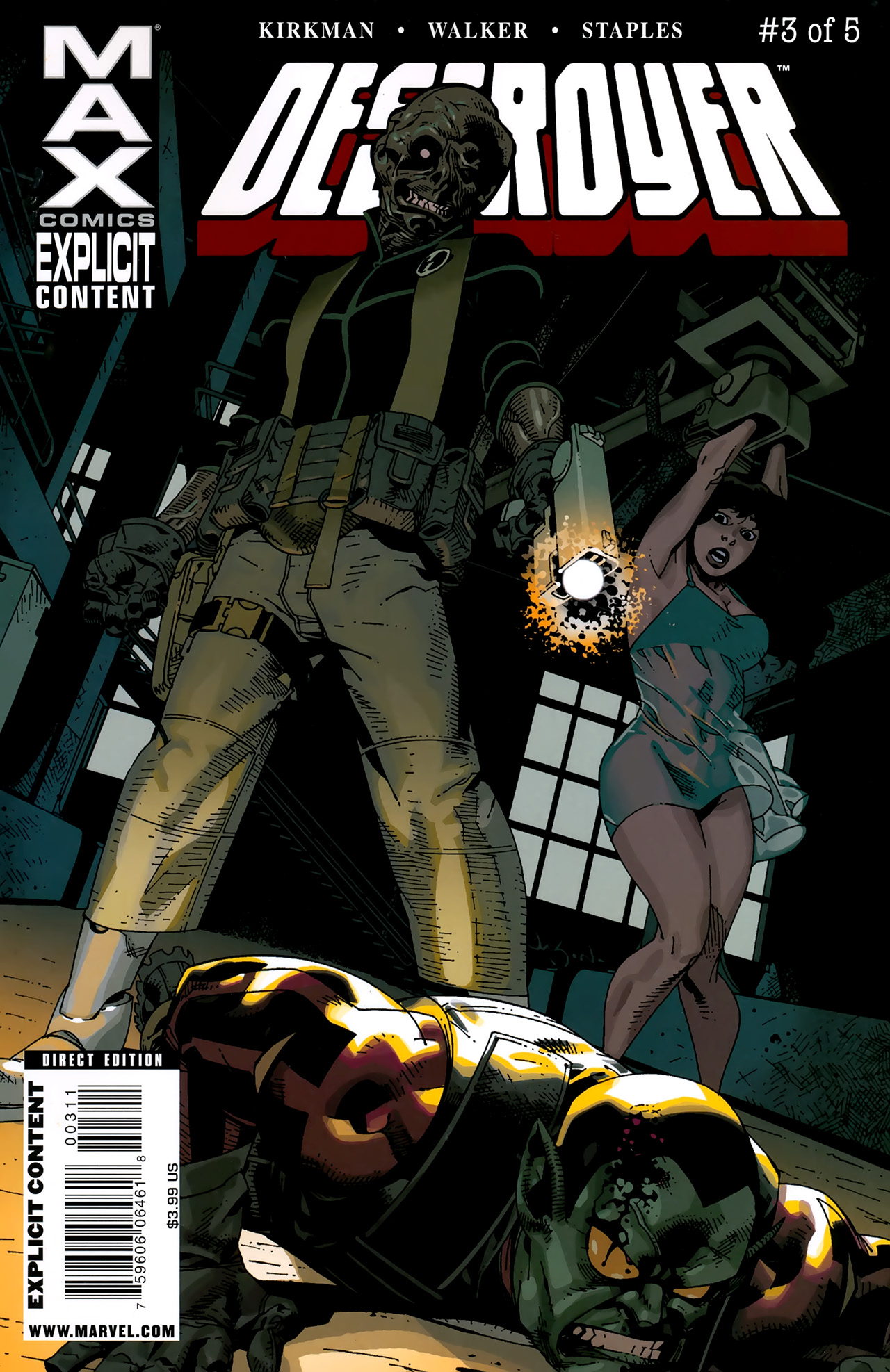 Read online Destroyer comic -  Issue #3 - 1