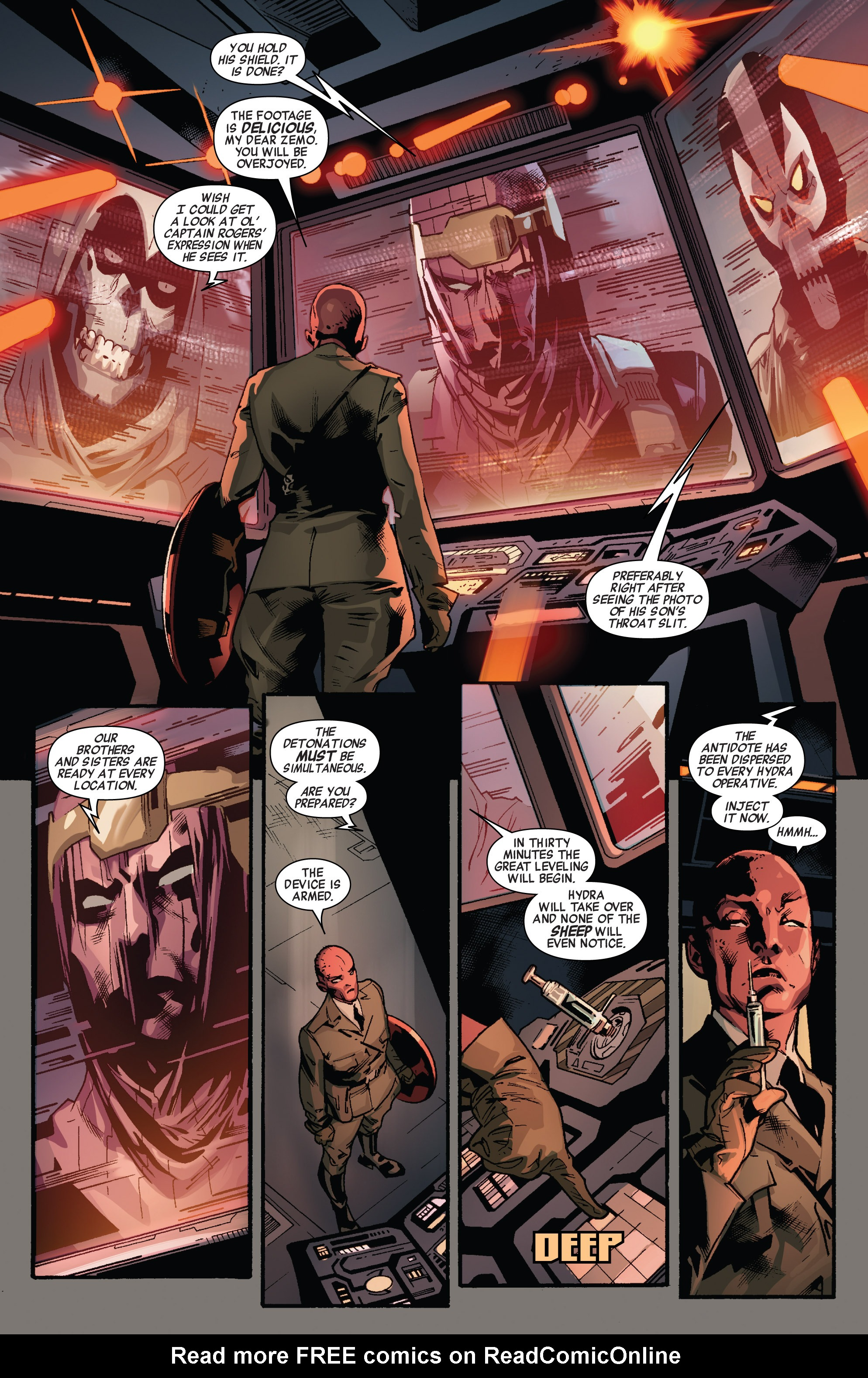 Read online All-New Captain America comic -  Issue #3 - 16