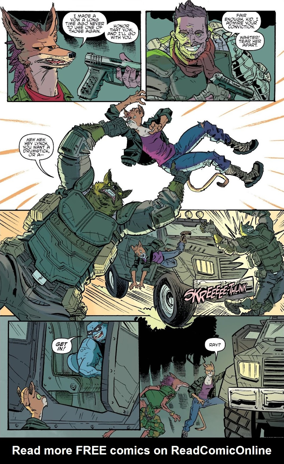 Read online Teenage Mutant Ninja Turtles: The IDW Collection comic -  Issue # TPB 9 (Part 3) - 40