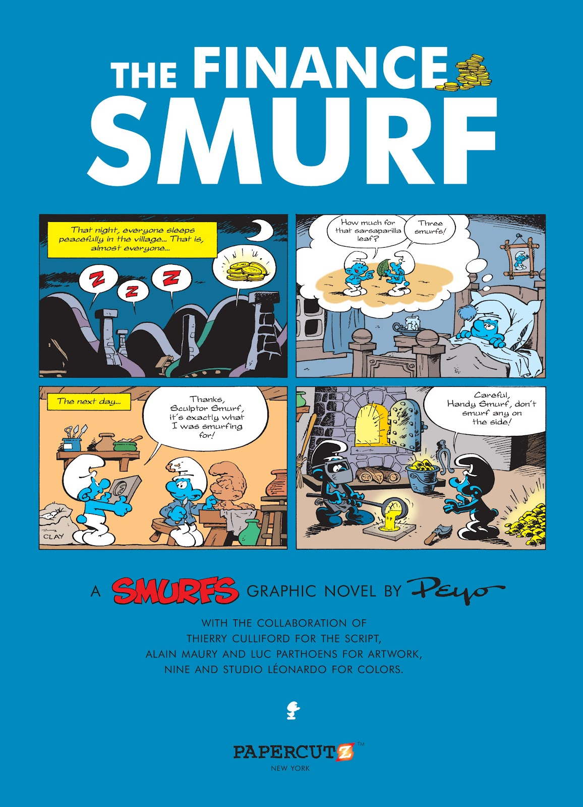 Read online The Smurfs comic -  Issue #18 - 3