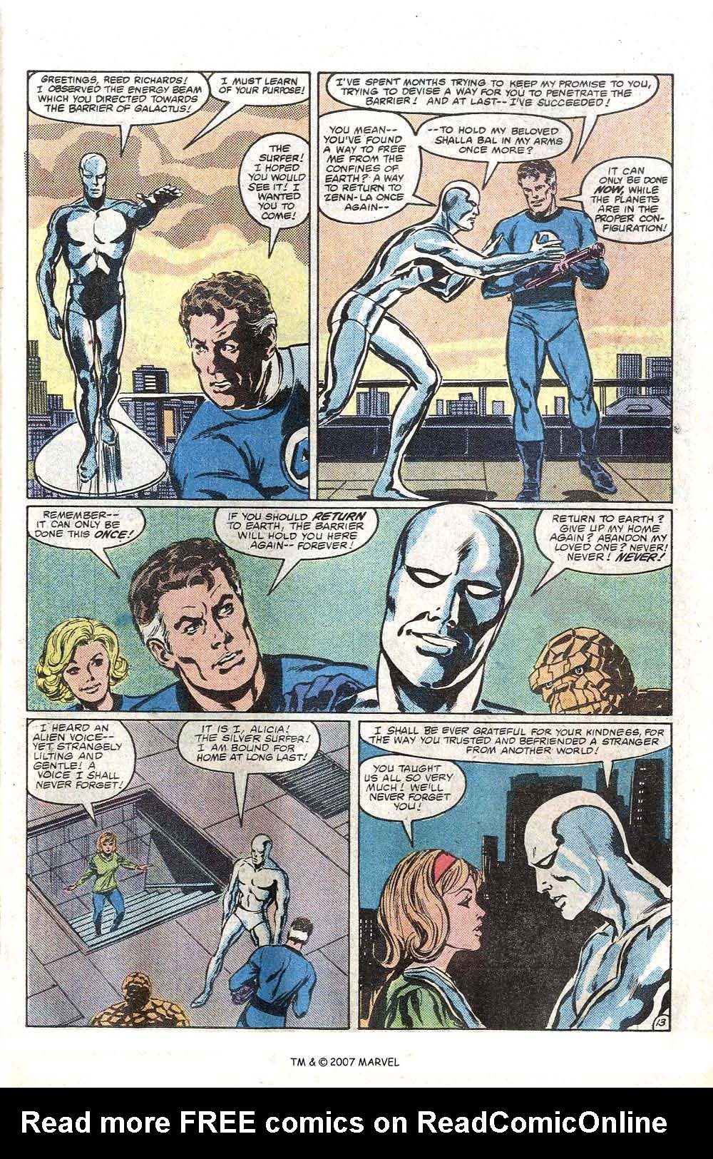Read online Silver Surfer (1982) comic -  Issue # Full - 15