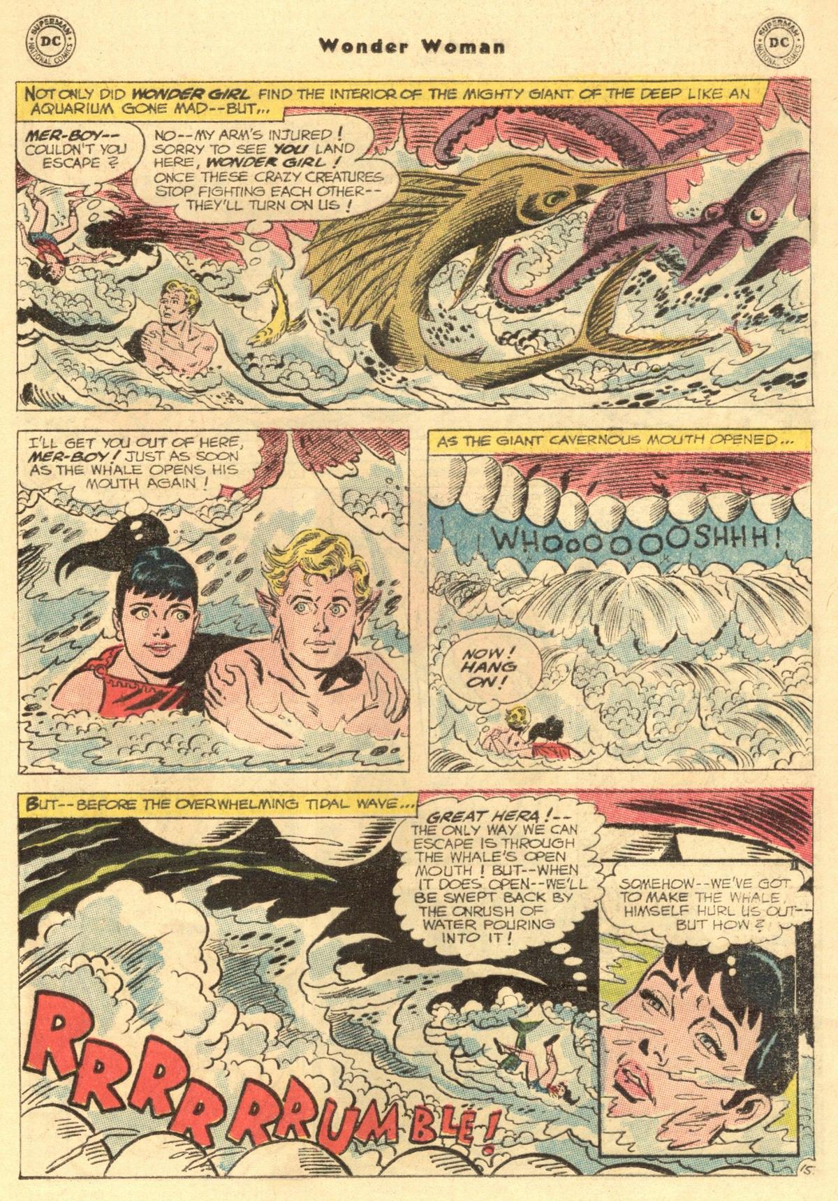 Read online Wonder Woman (1942) comic -  Issue #154 - 21