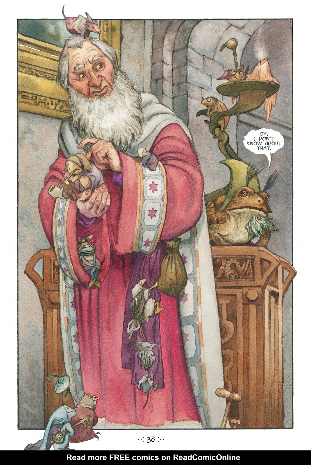Read online The Wizard's Tale comic -  Issue # TPB - 35