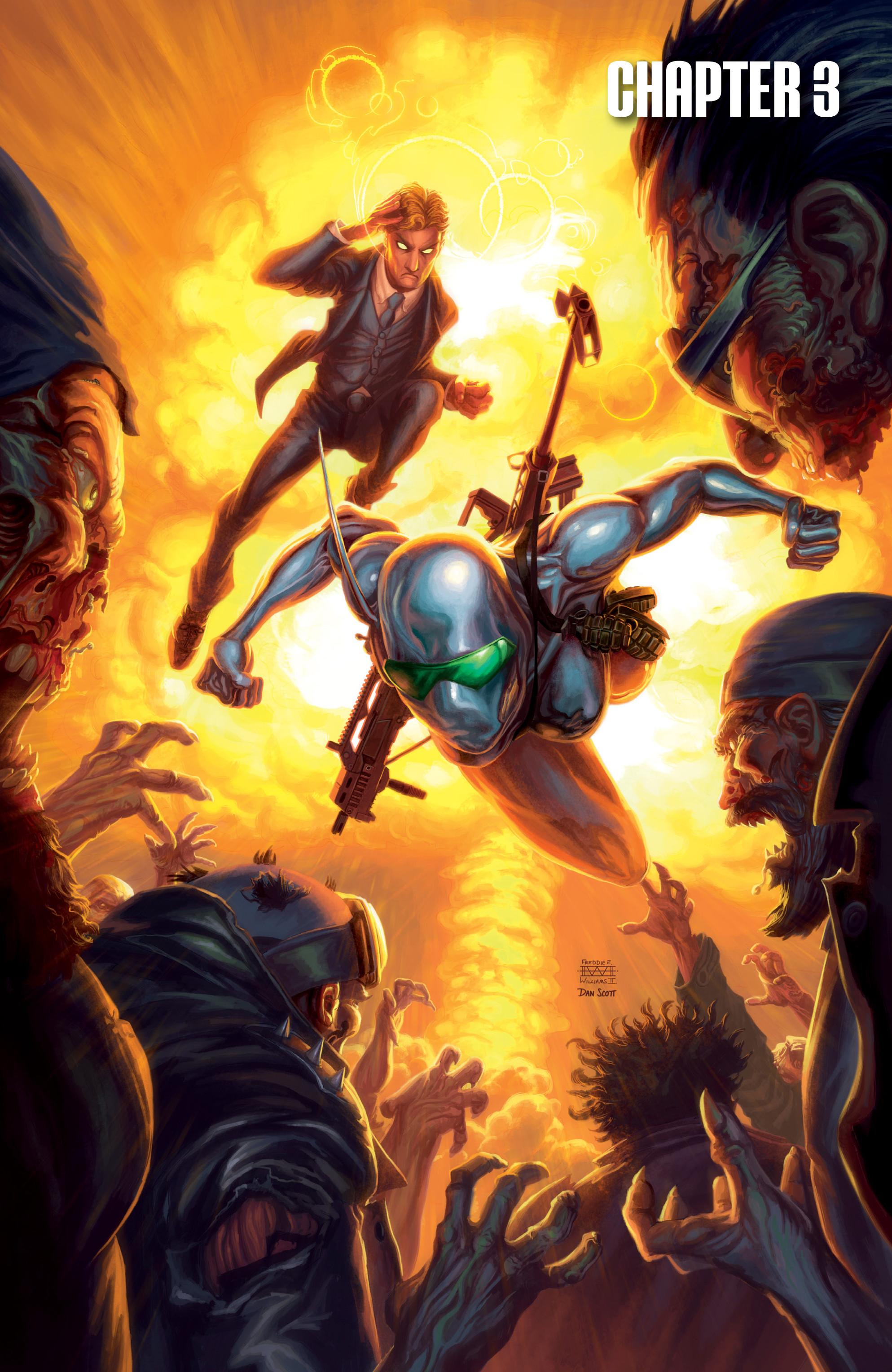 Read online Brain Boy:  The Men from G.E.S.T.A.L.T. comic -  Issue # TPB - 54