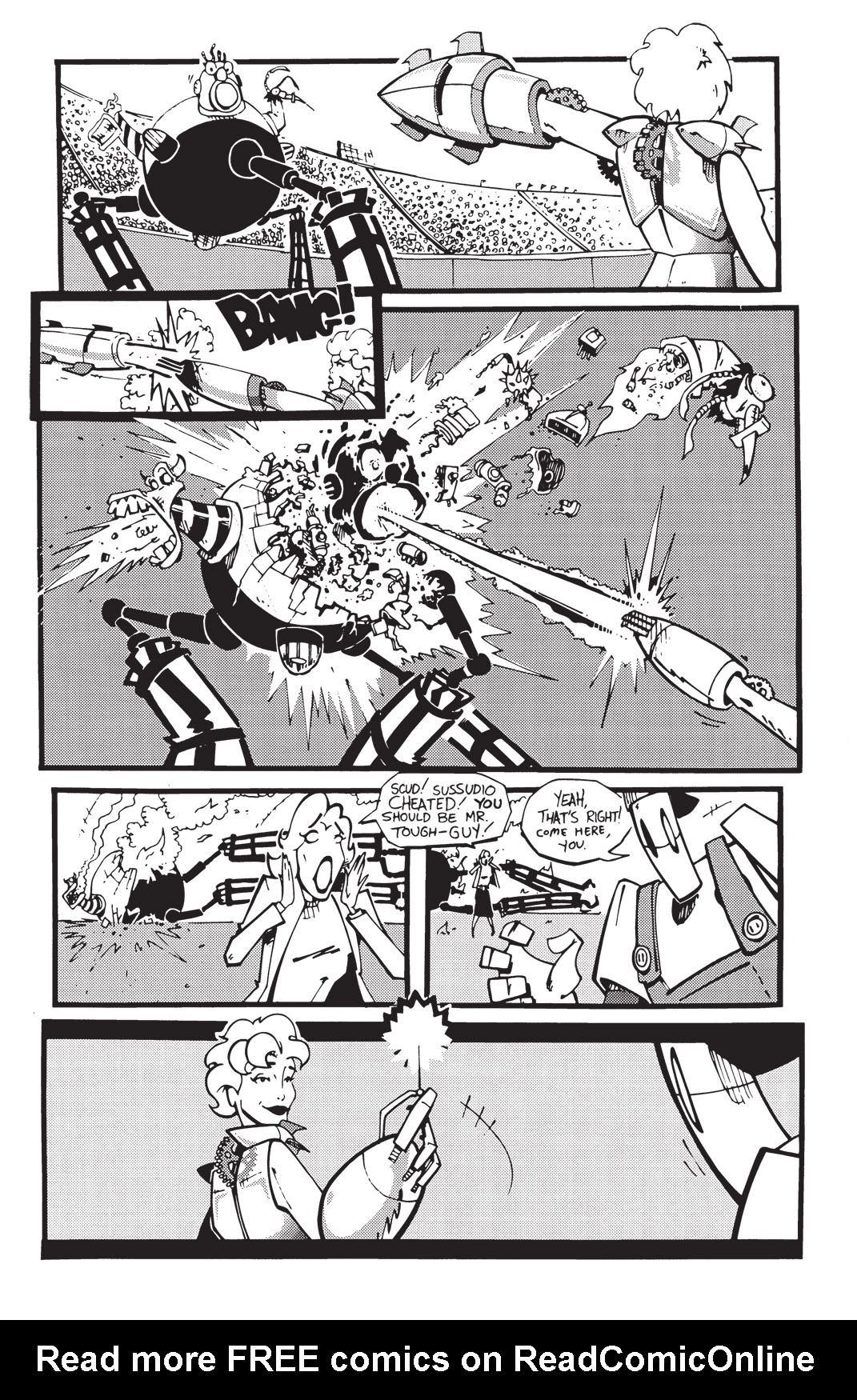 Read online Scud: The Disposable Assassin: The Whole Shebang comic -  Issue # TPB (Part 2) - 137