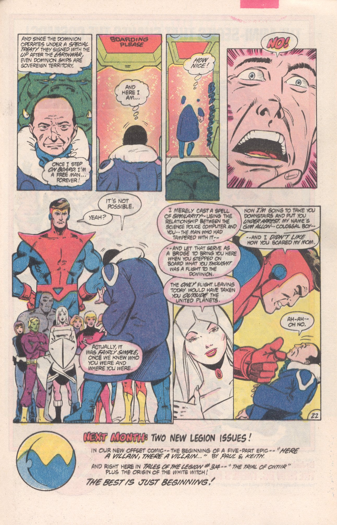 Legion of Super-Heroes (1980) 313 Page 22