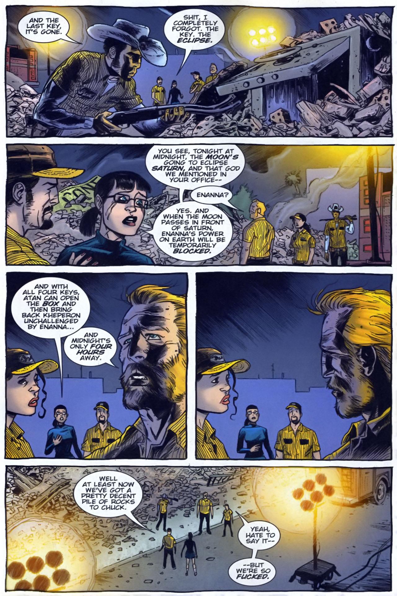 Read online The Exterminators comic -  Issue #29 - 5