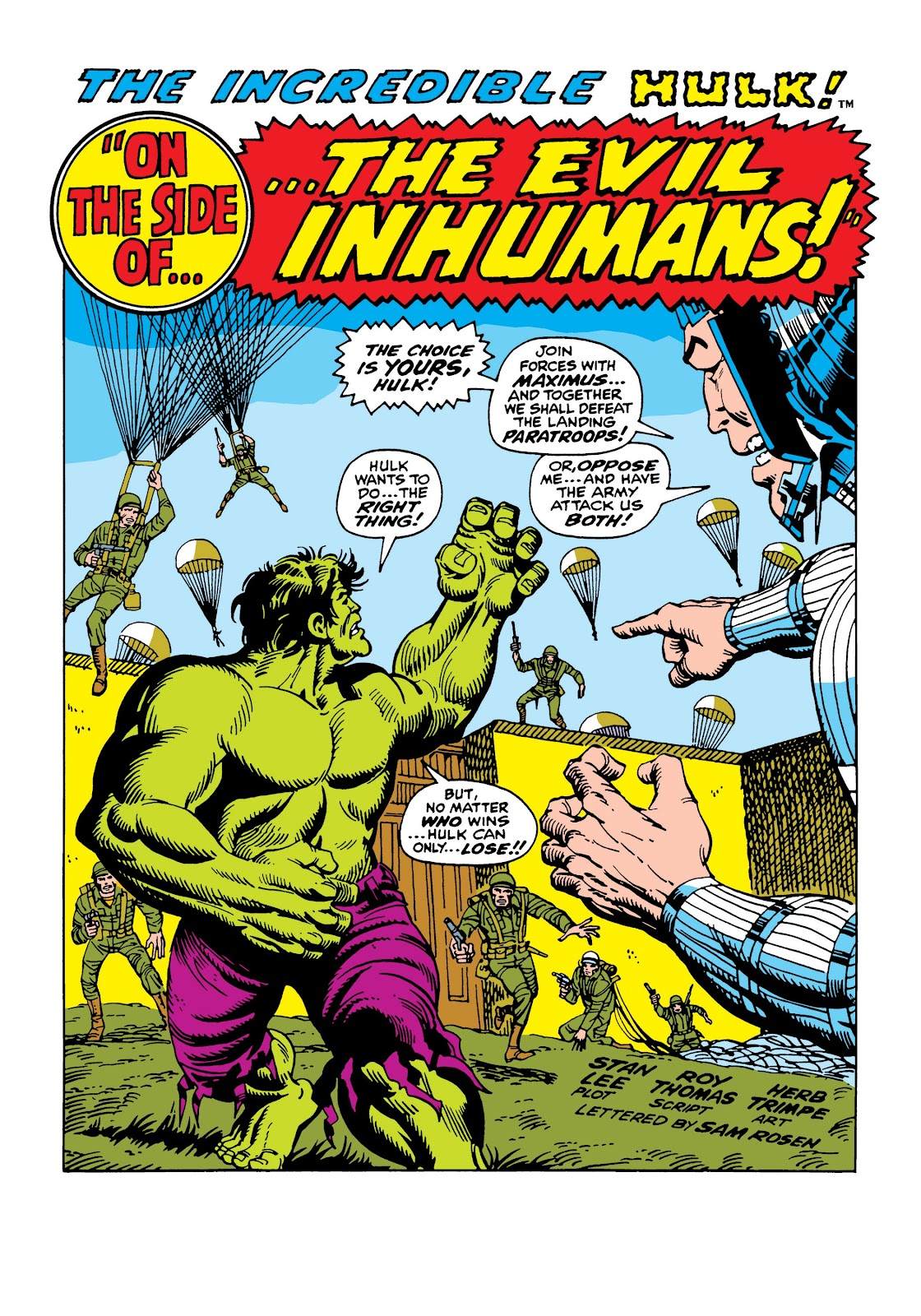Read online Marvel Masterworks: The Incredible Hulk comic -  Issue # TPB 5 (Part 2) - 96