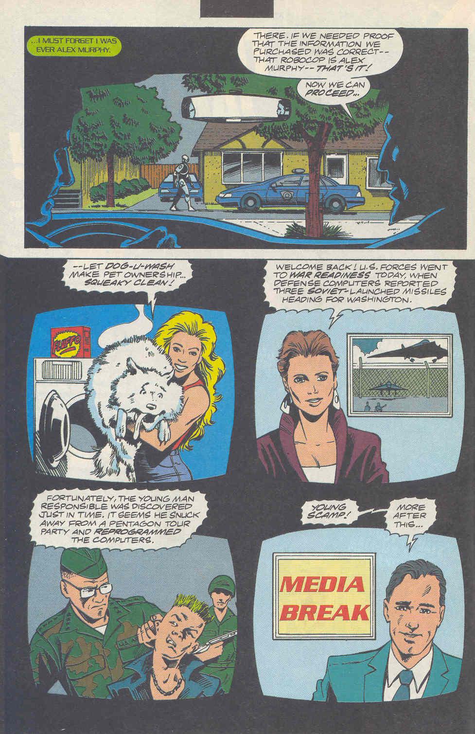 Read online Robocop (1990) comic -  Issue #17 - 7