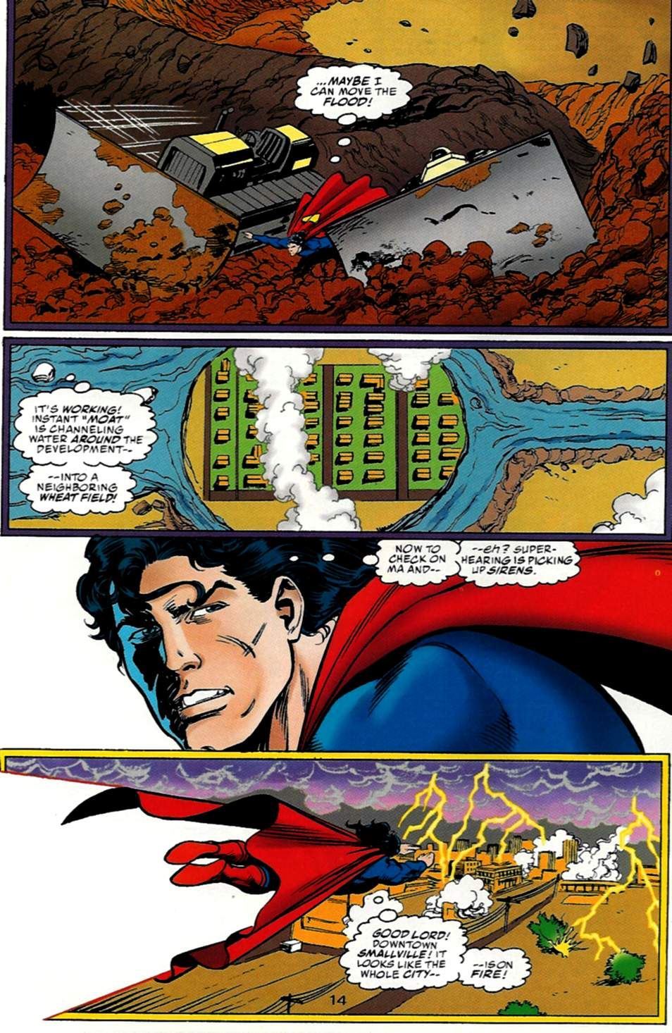 Read online Action Comics (1938) comic -  Issue #722 - 14