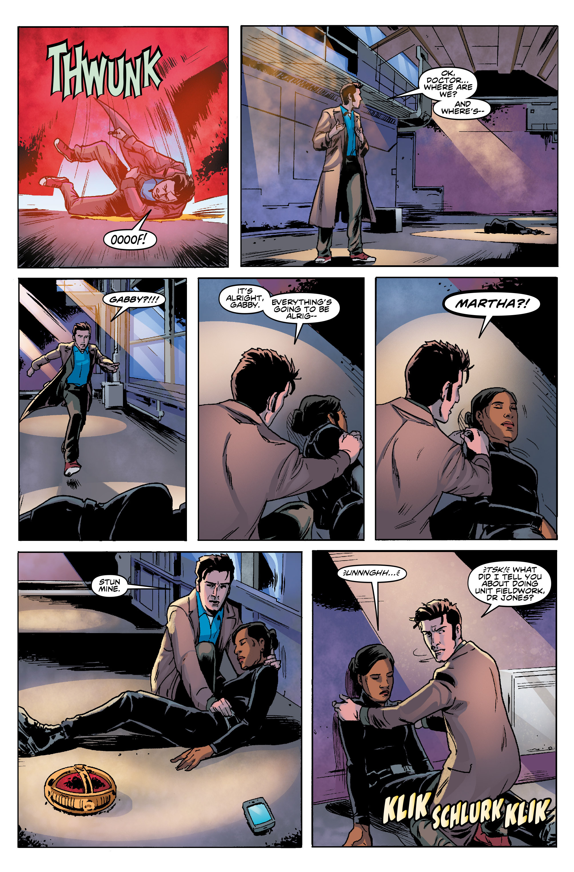 Read online Doctor Who: The Tenth Doctor Year Three comic -  Issue #5 - 19