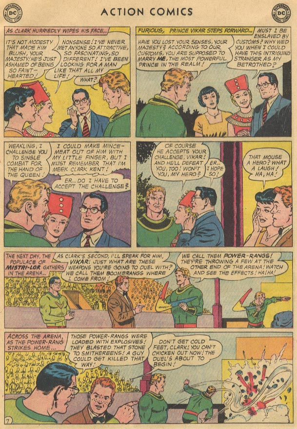 Read online Action Comics (1938) comic -  Issue #298 - 9