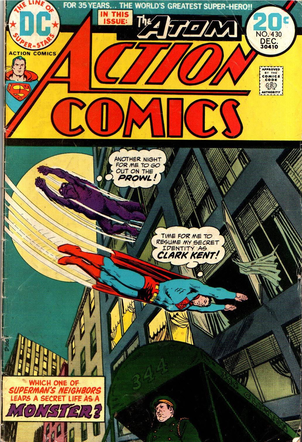 Action Comics (1938) 430 Page 1