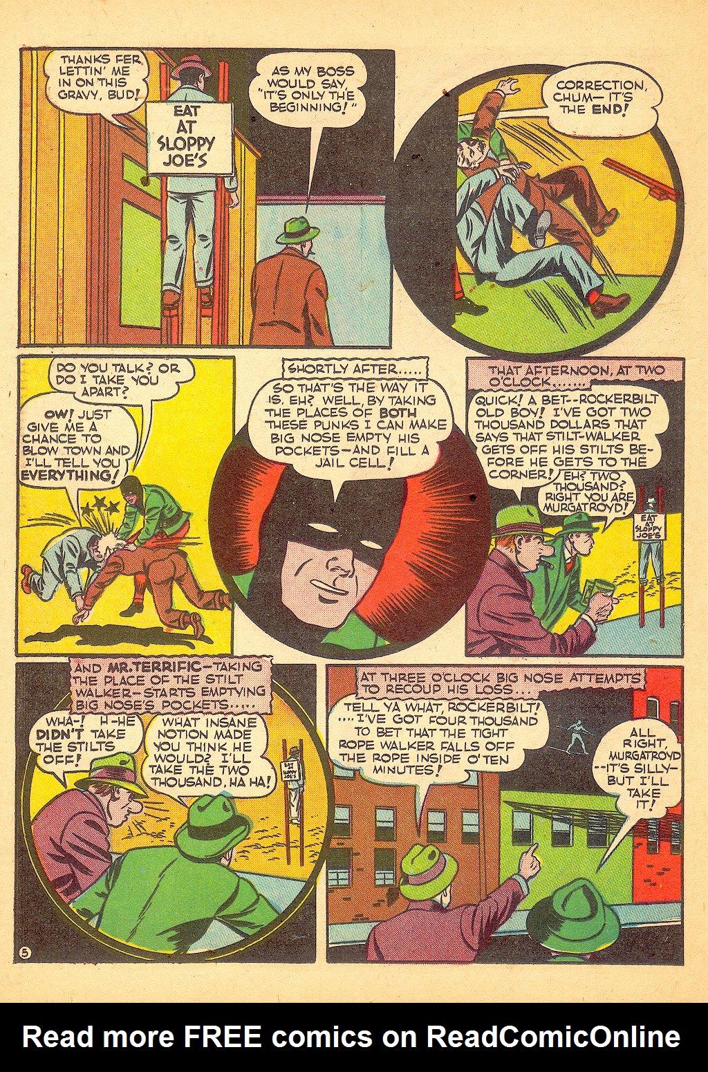 Read online Sensation (Mystery) Comics comic -  Issue #25 - 46