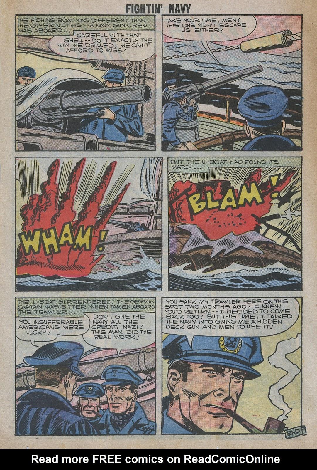Read online Fightin' Navy comic -  Issue #82 - 50