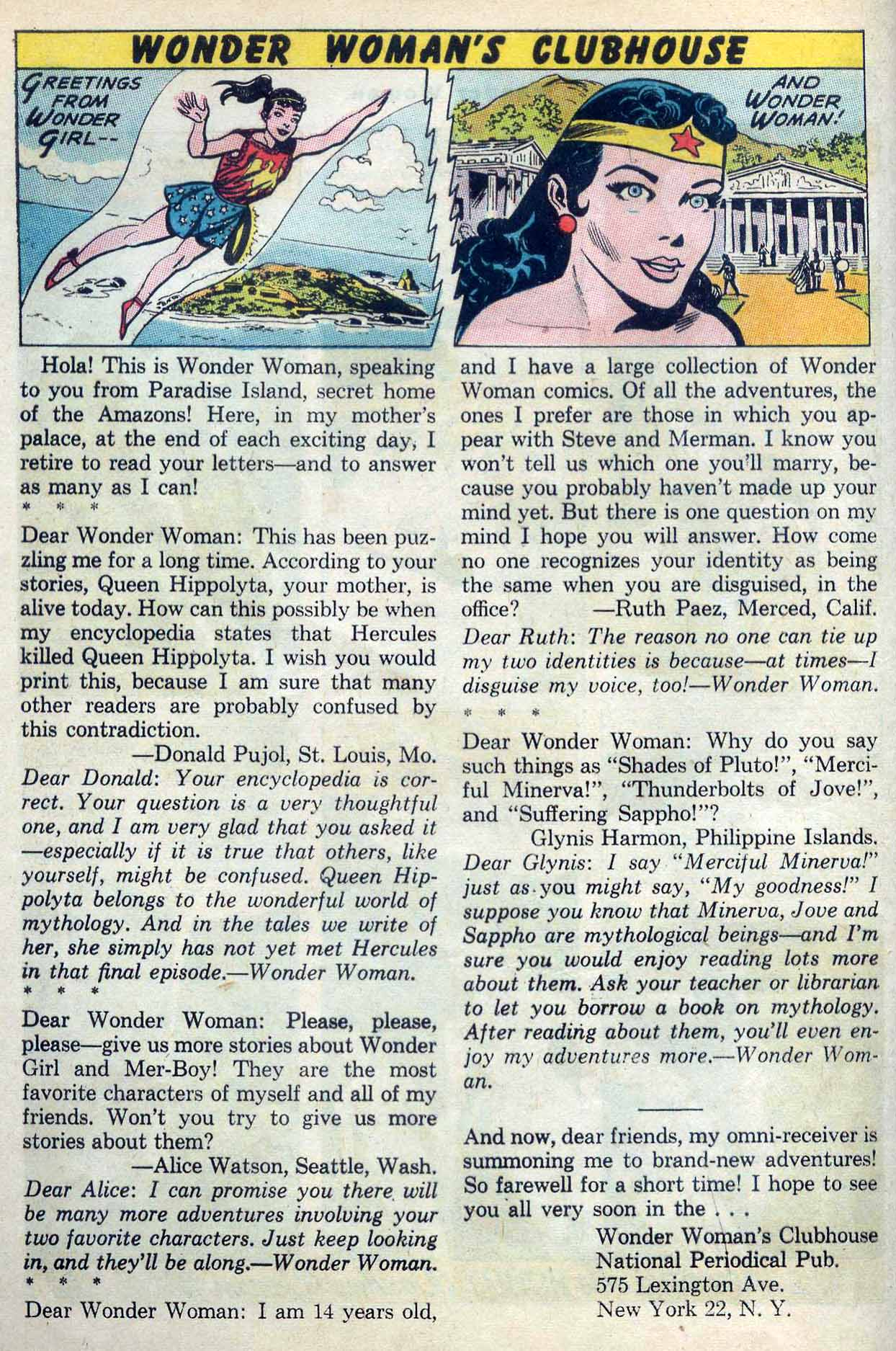Read online Wonder Woman (1942) comic -  Issue #137 - 24